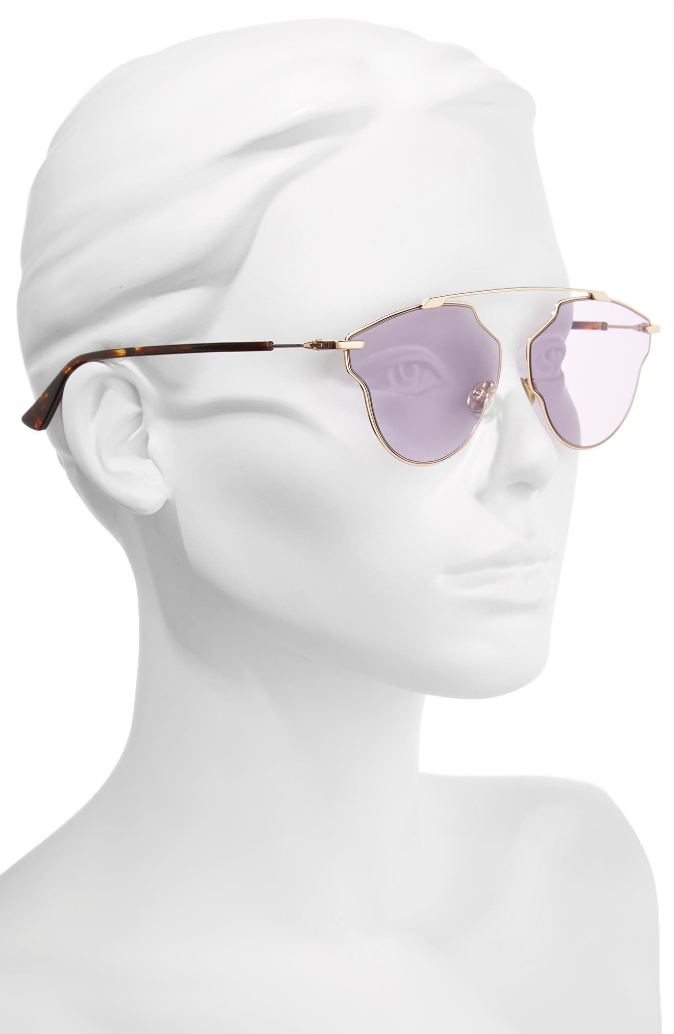 Alternate Image 2  - Christian Dior So Real Pop 59mm Sunglasses