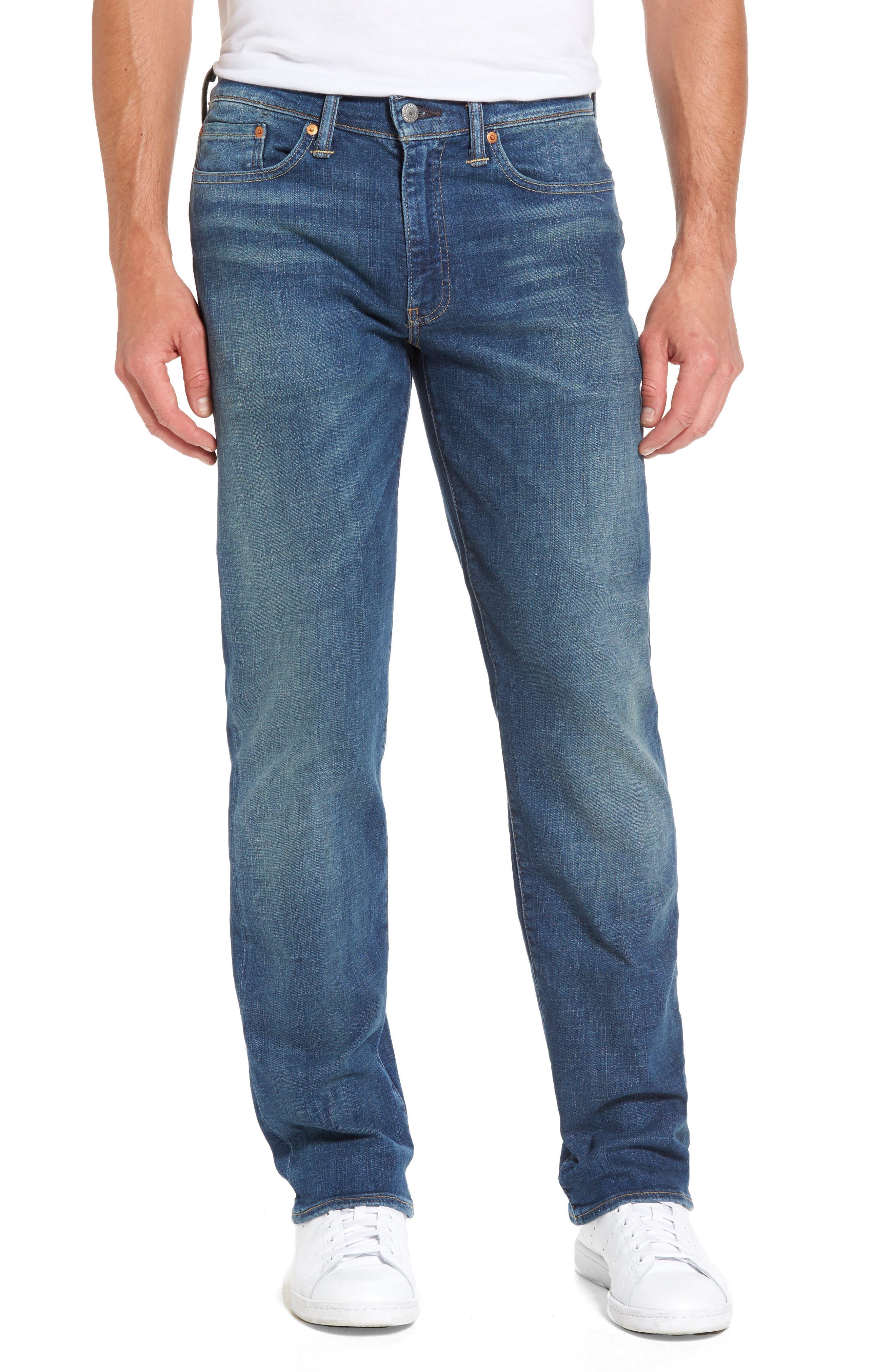 Alternate Image 1 Selected - Levi's® 514™ Straight Leg Jeans (Yoke)