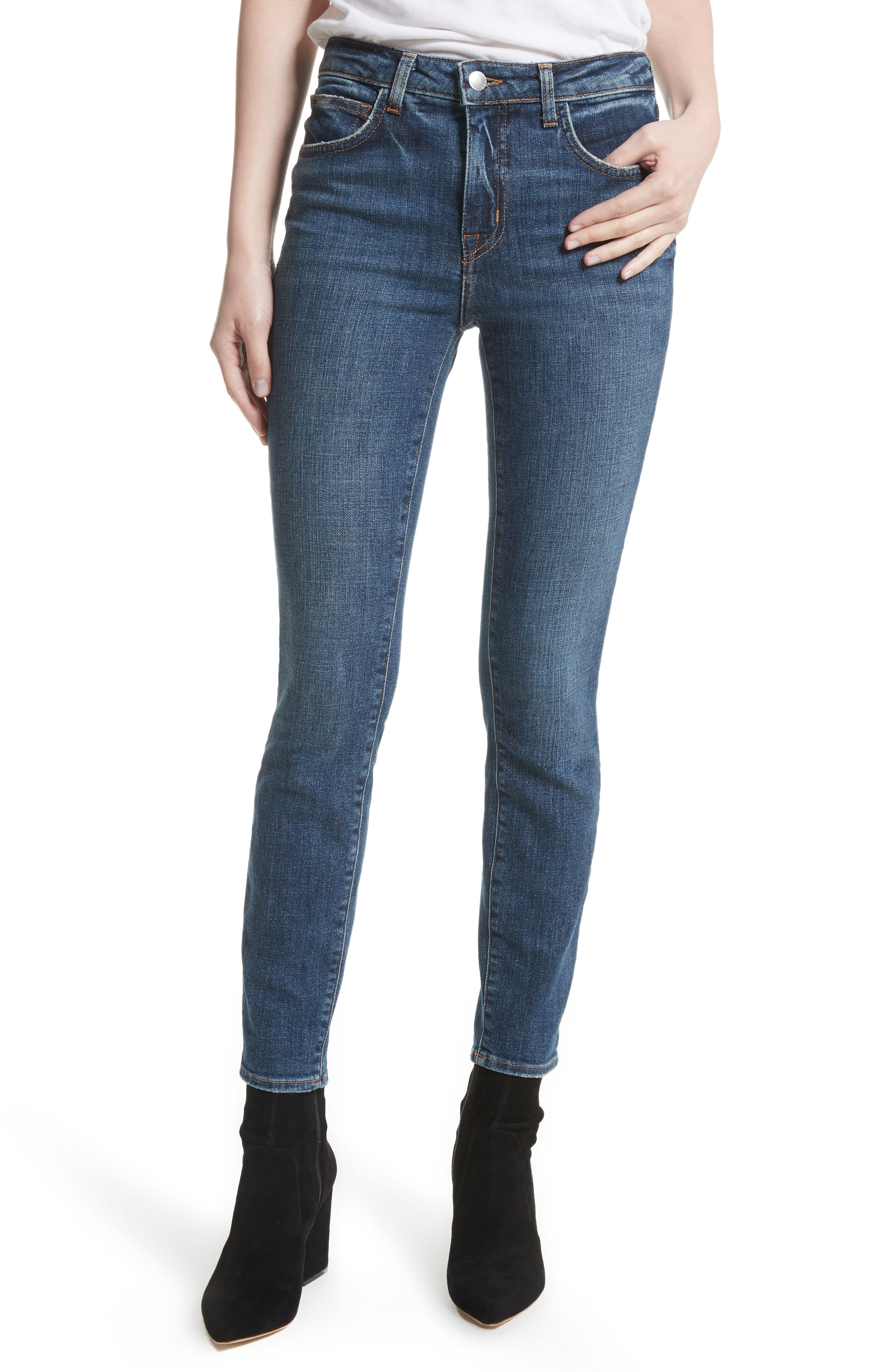 L'AGENCE High 10 High Waist Skinny Jeans