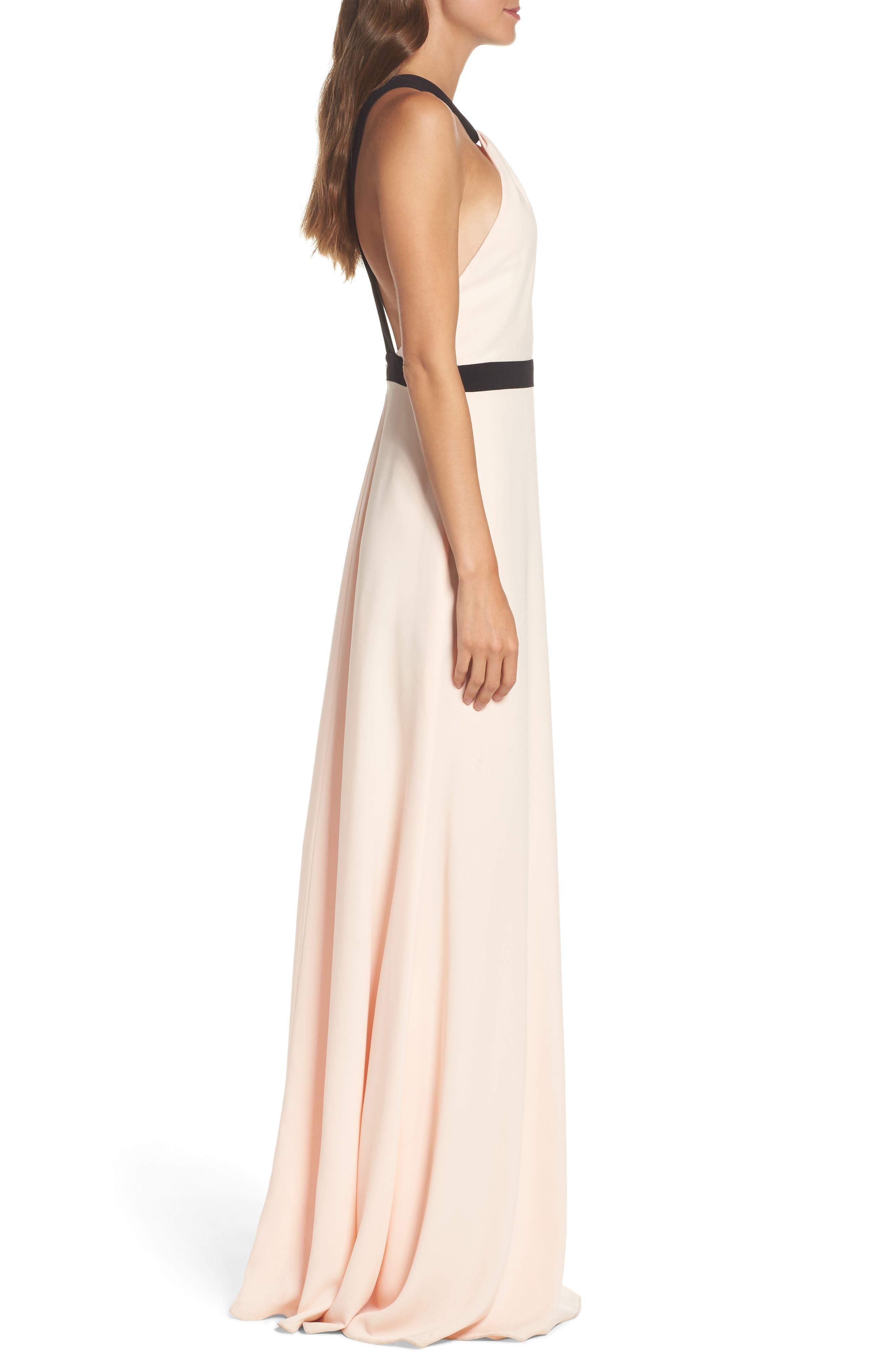 Alternate Image 3  - Jill Jill Stuart Crepe Gown