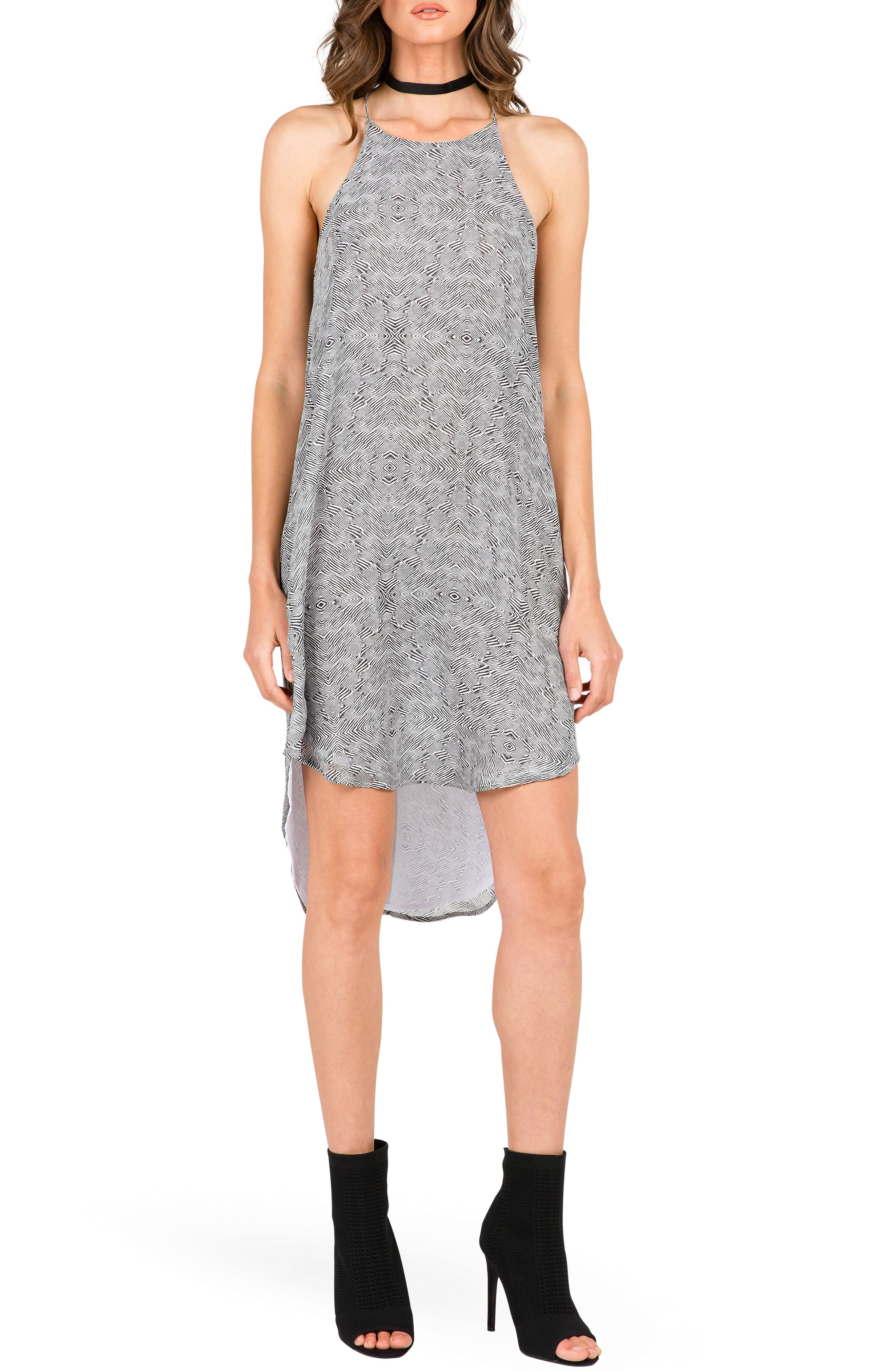 Standards & Practices Ashley Racerback High/Low Dress