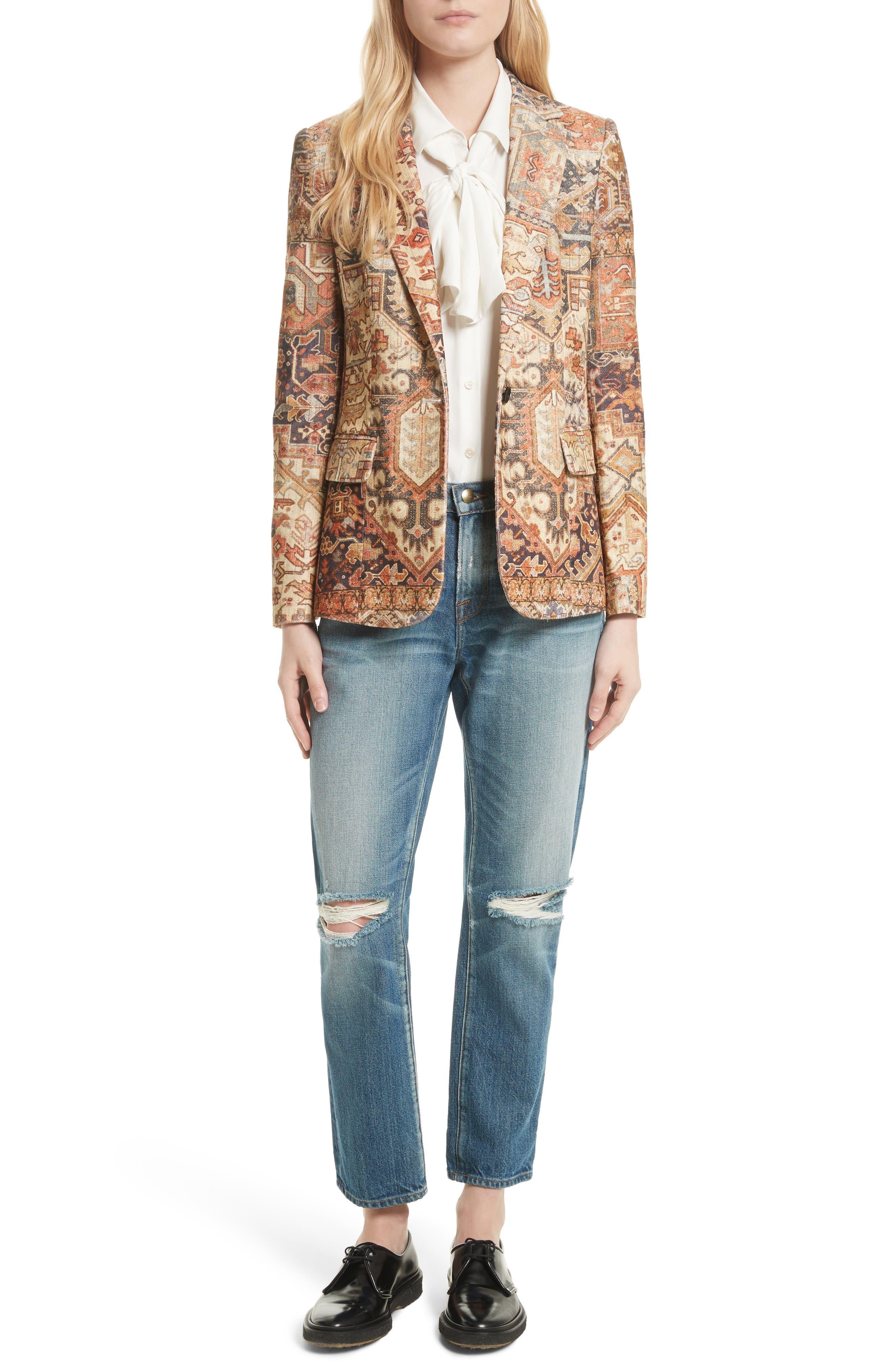 Alternate Image 2  - FRAME Persian Classic Blazer