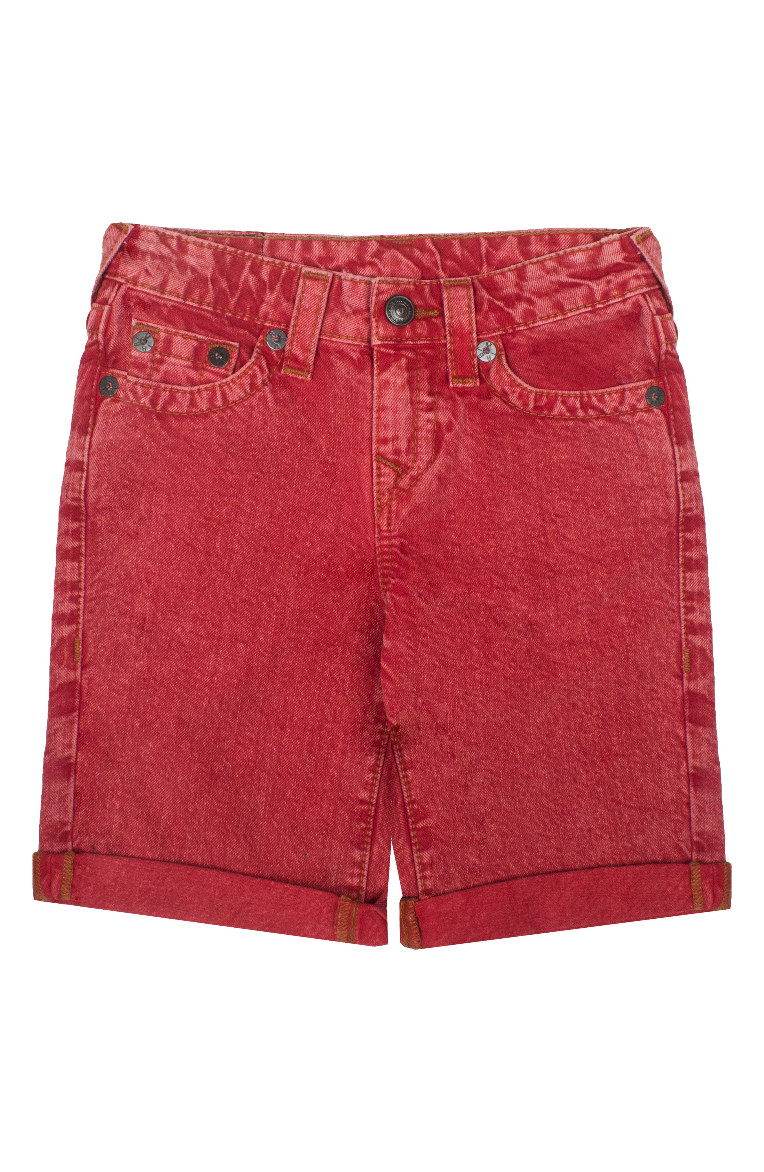 True Religion Brand Jeans Geno Denim Shorts (Toddler Boys & Little Boys)