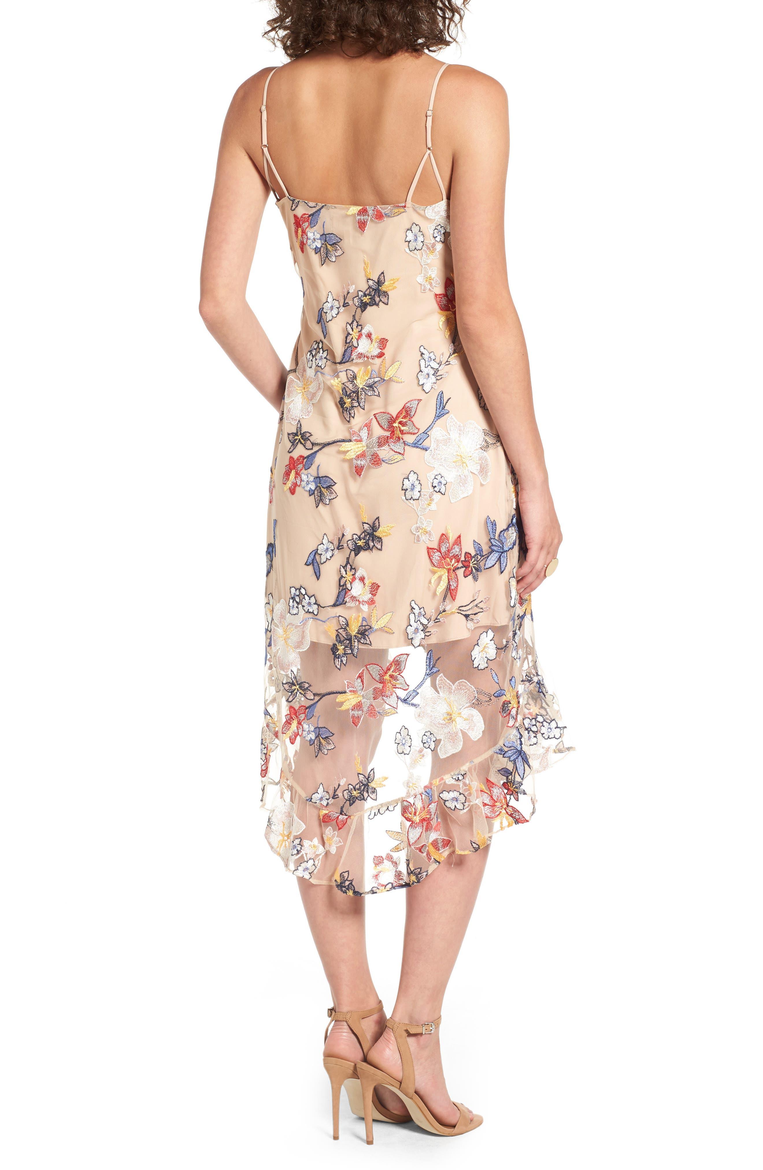 Alternate Image 2  - devlin Allyson Embroidered Dress