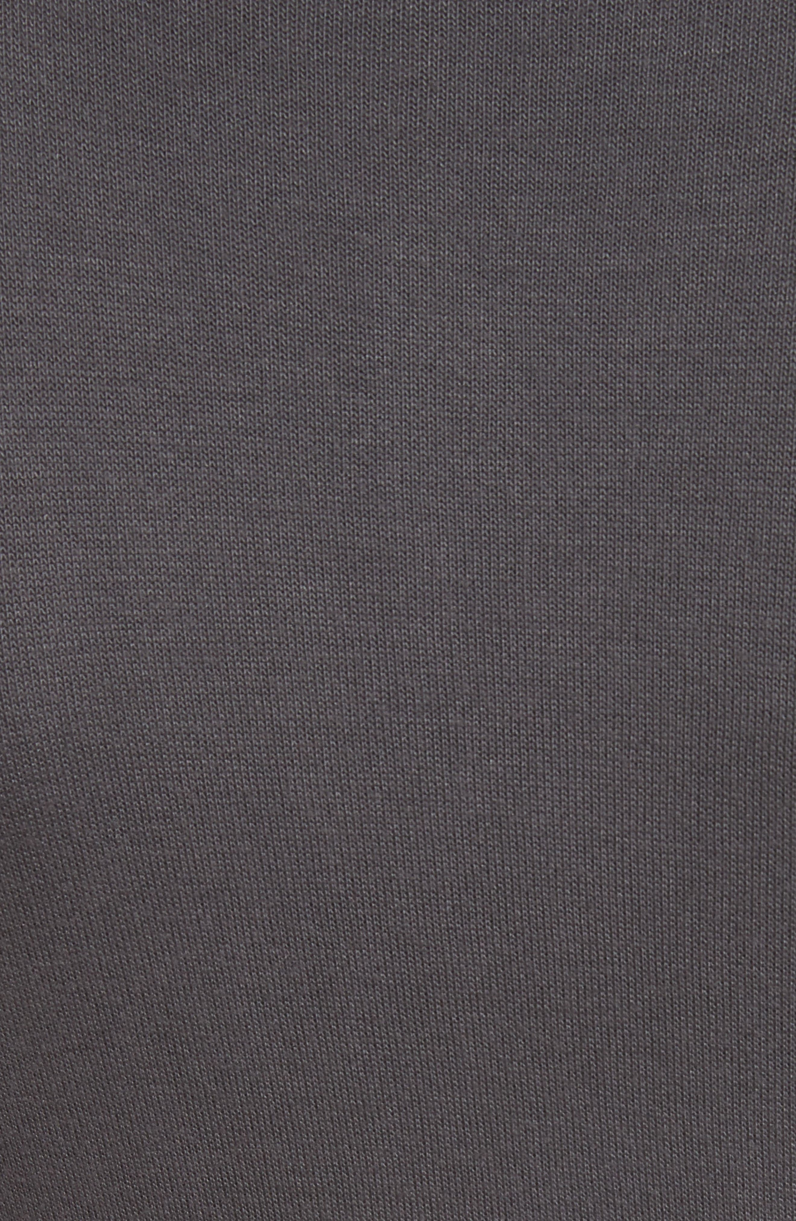 Body-Con Turtleneck Dress,                             Alternate thumbnail 5, color,                             Gunmetal