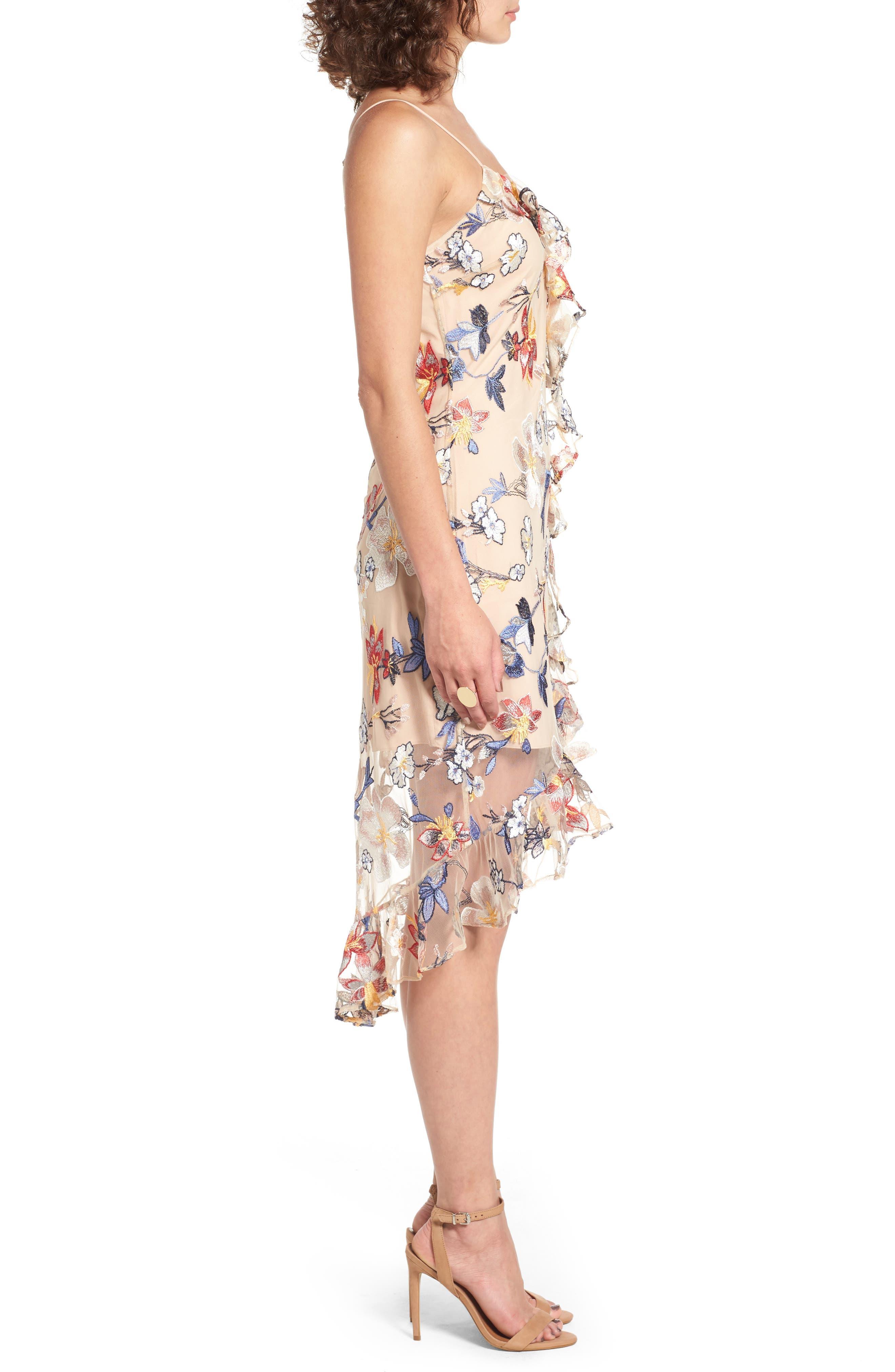 Alternate Image 3  - devlin Allyson Embroidered Dress