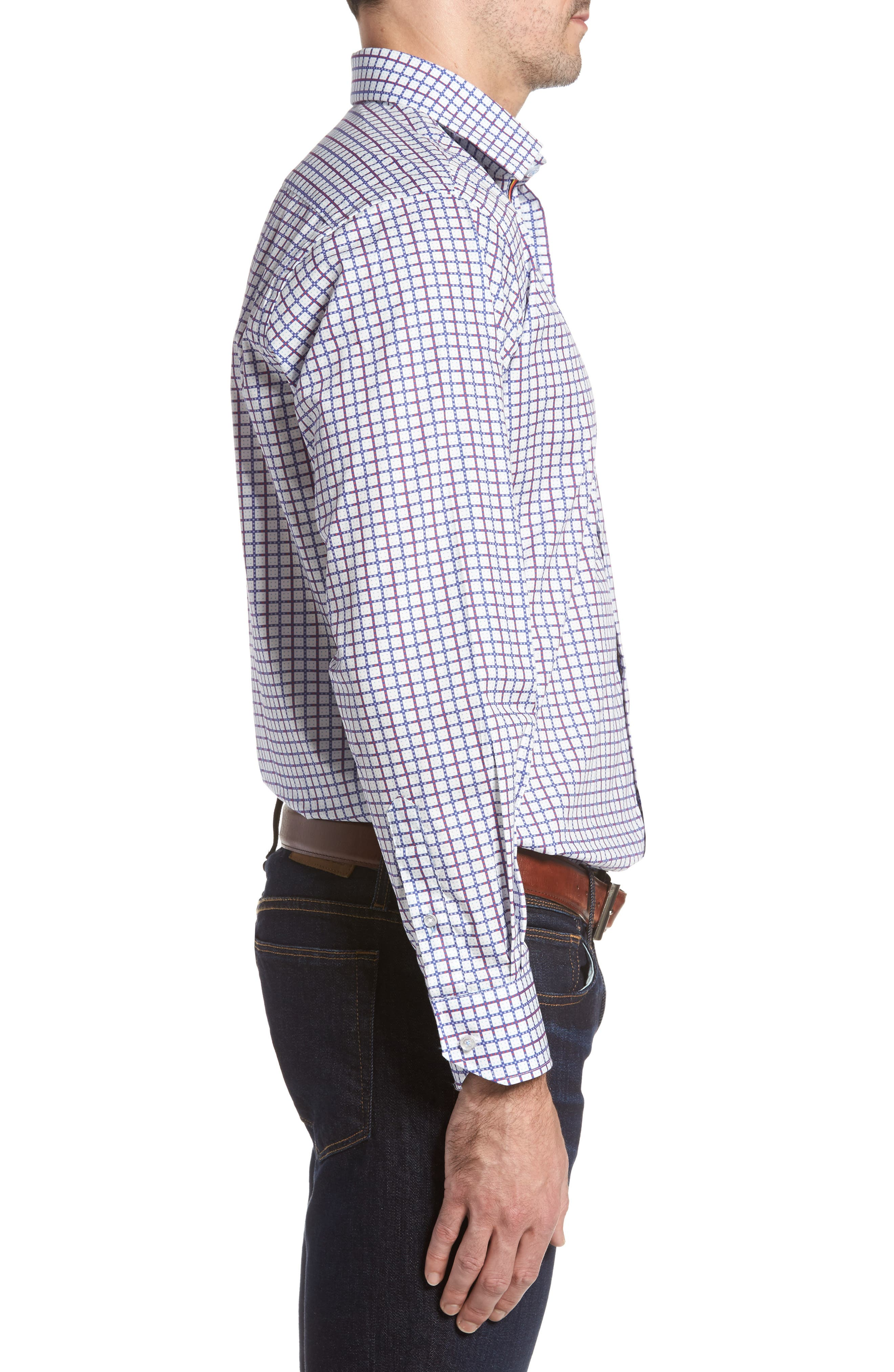 Alternate Image 3  - TailorByrd Magnolia Sport Shirt
