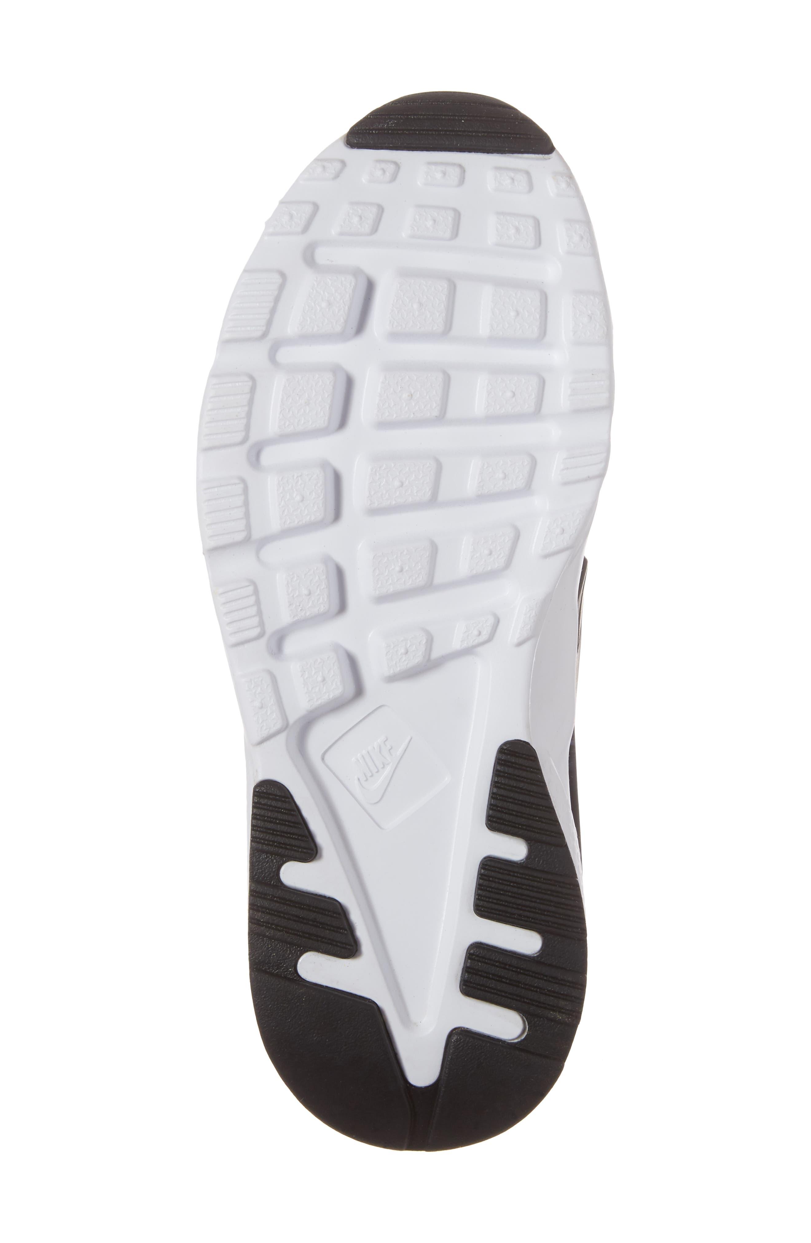 Air Huarache Run Ultra Sneaker,                             Alternate thumbnail 6, color,                             White/ Sport Fuchsia/ Black