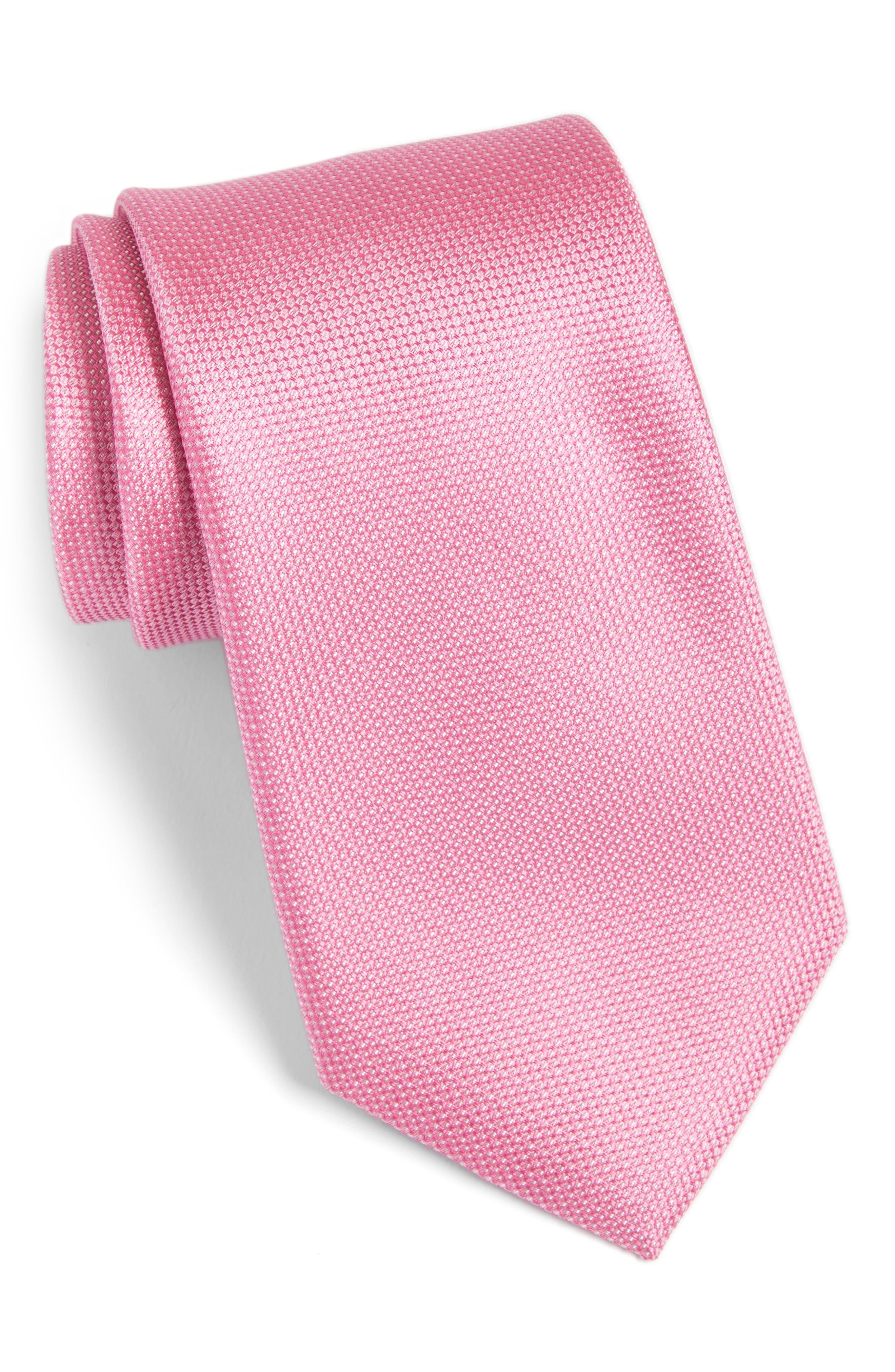 Main Image - Calibrate Rawson Solid Silk Tie