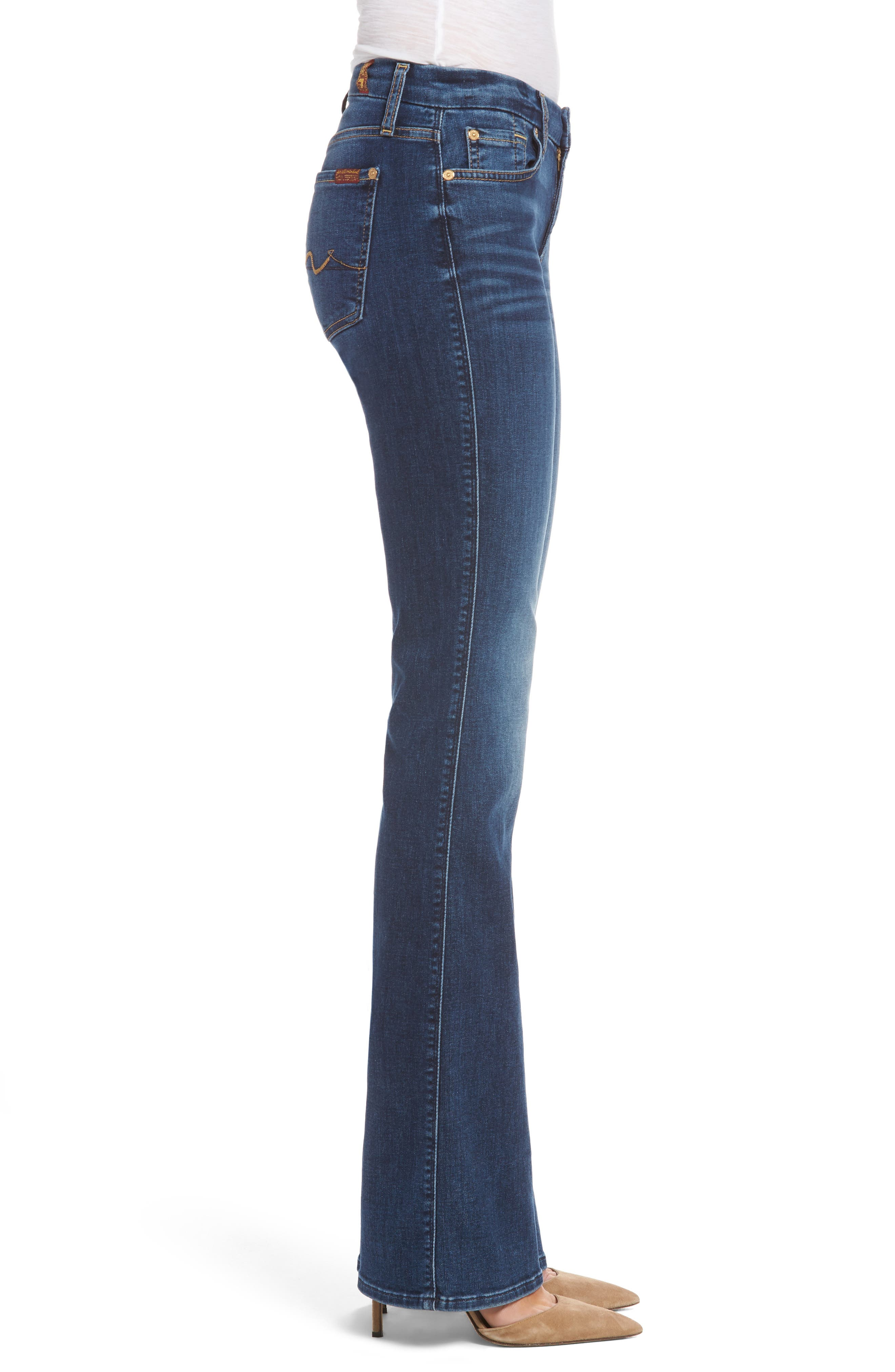 Alternate Image 3  - 7 For All Mankind® Kimmie Bootcut Jeans (Stunning Bleeker)