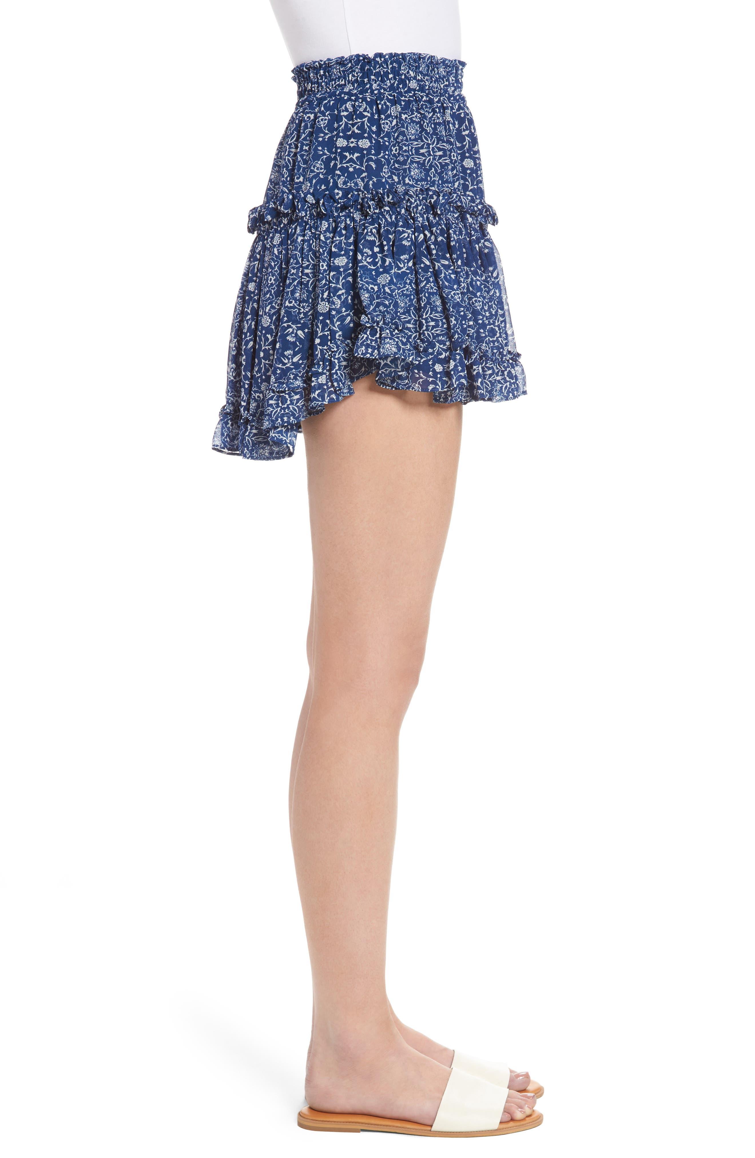 Alternate Image 4  - MISA Los Angeles Marion Miniskirt