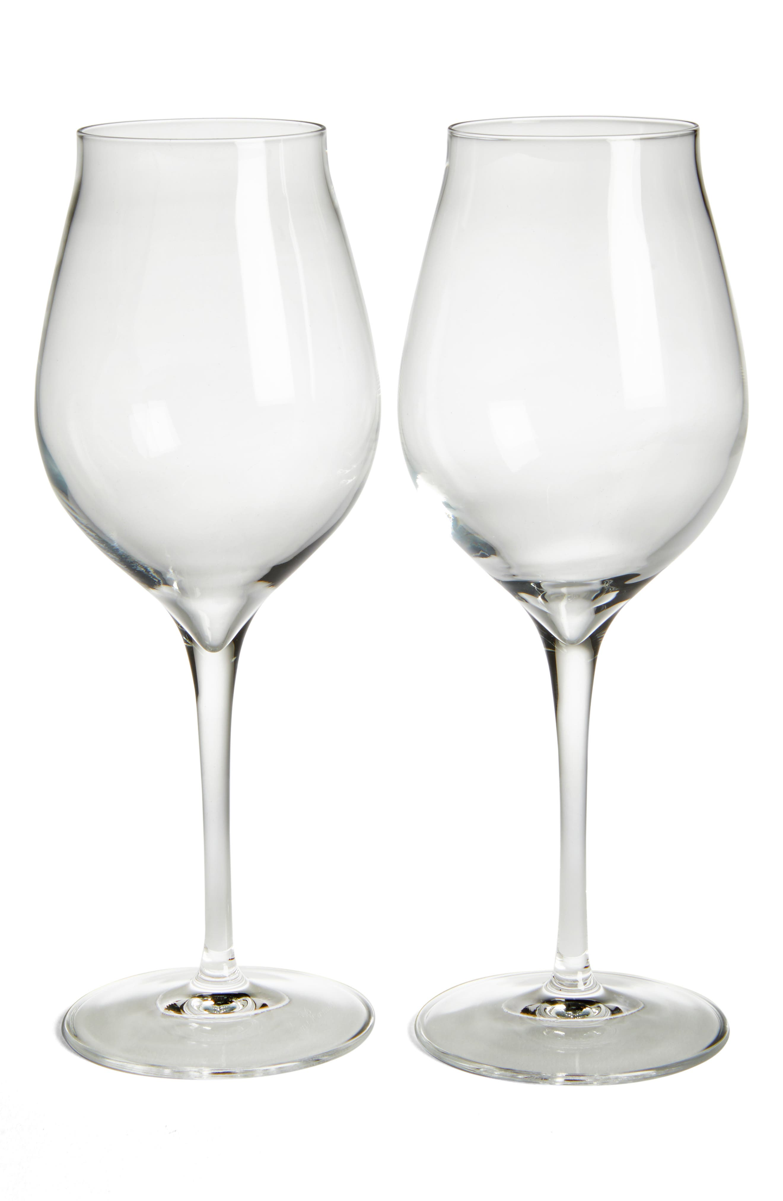 Luigi Bormiolo Vinea Malvasia/Orvieto Set of 2 White Wine Glasses