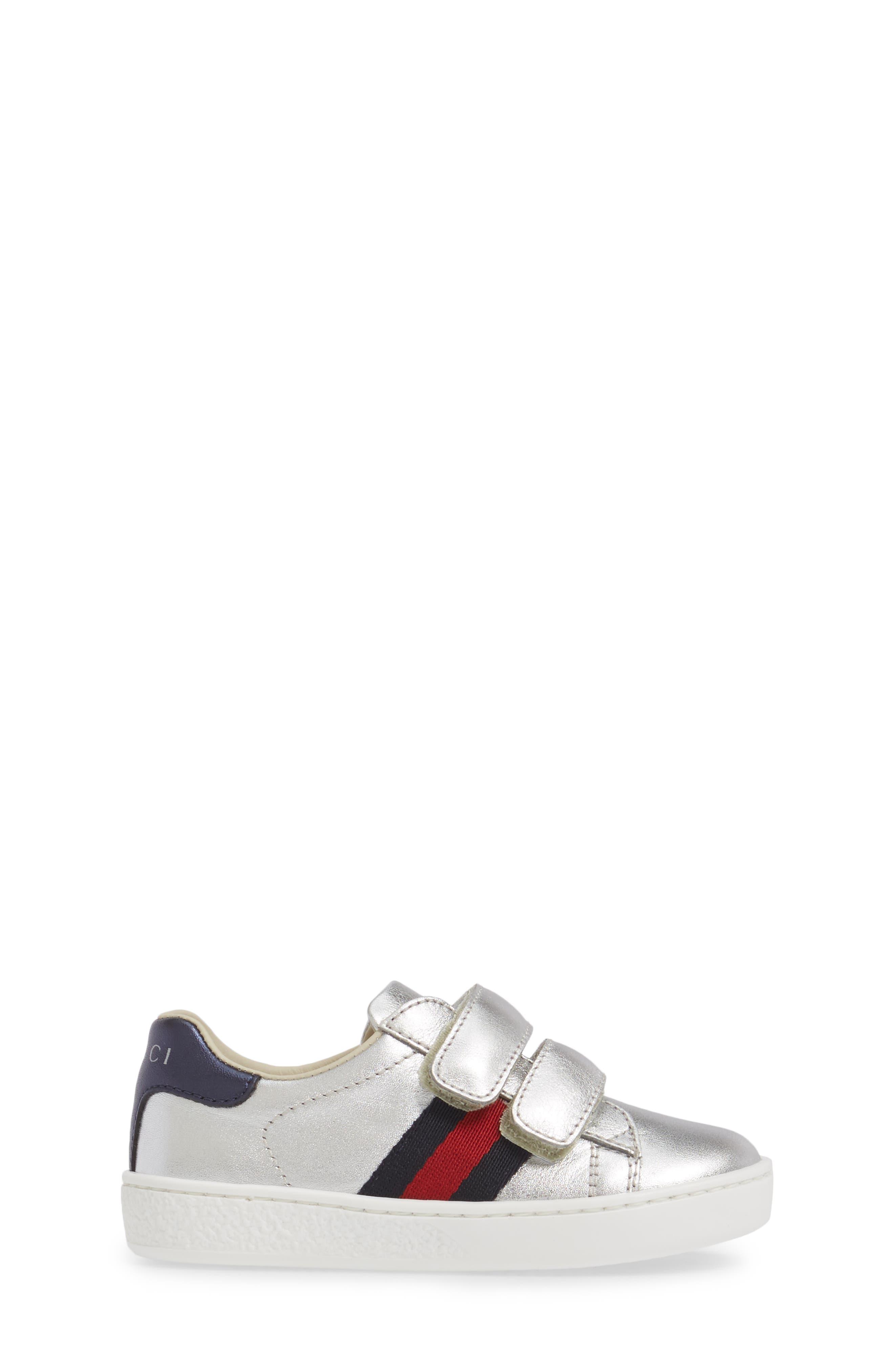 Alternate Image 3  - Gucci New Ace Sneaker (Baby, Walker, Toddler & Little Kid)