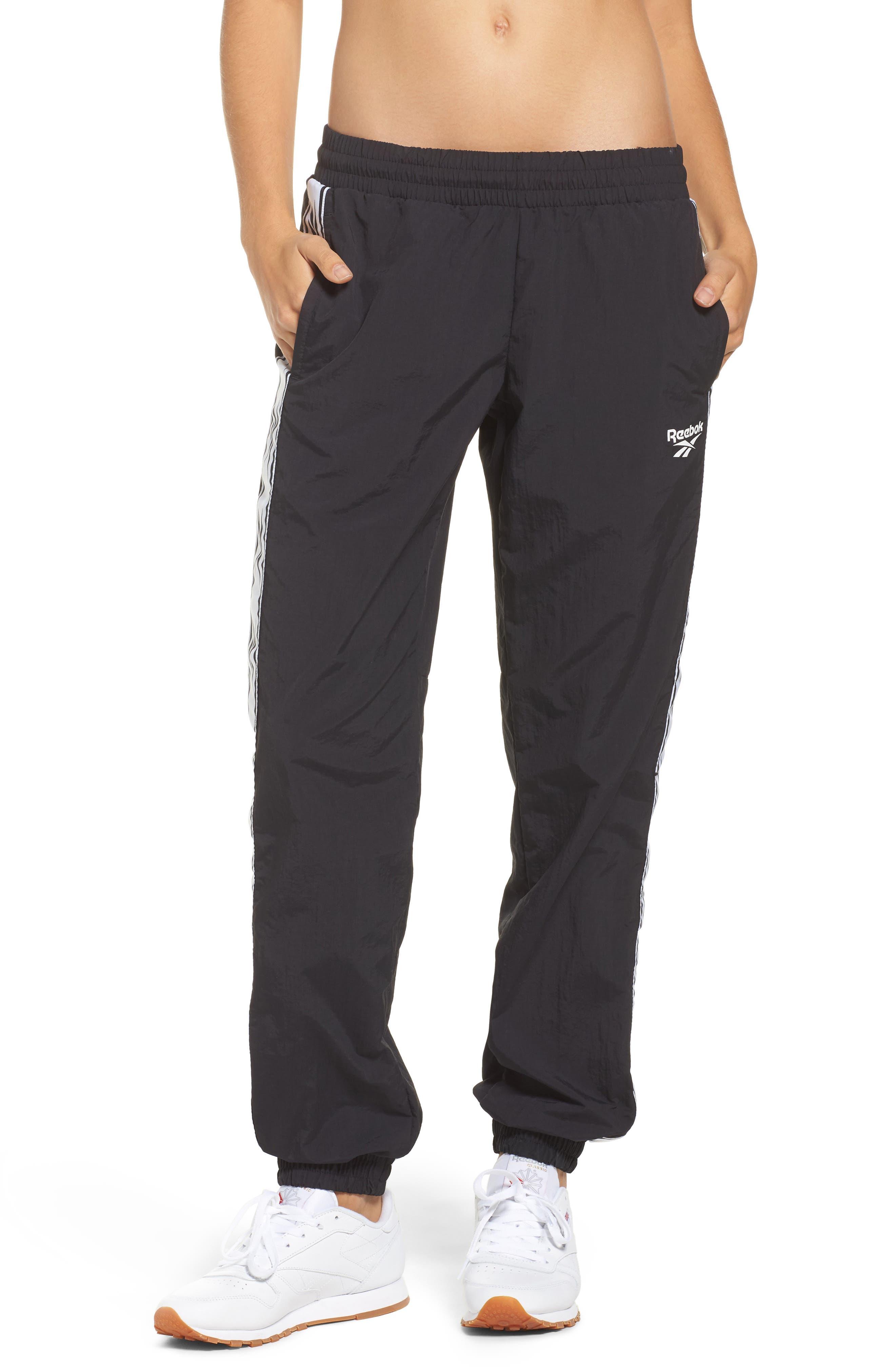 Logo Track Pants,                         Main,                         color, Black