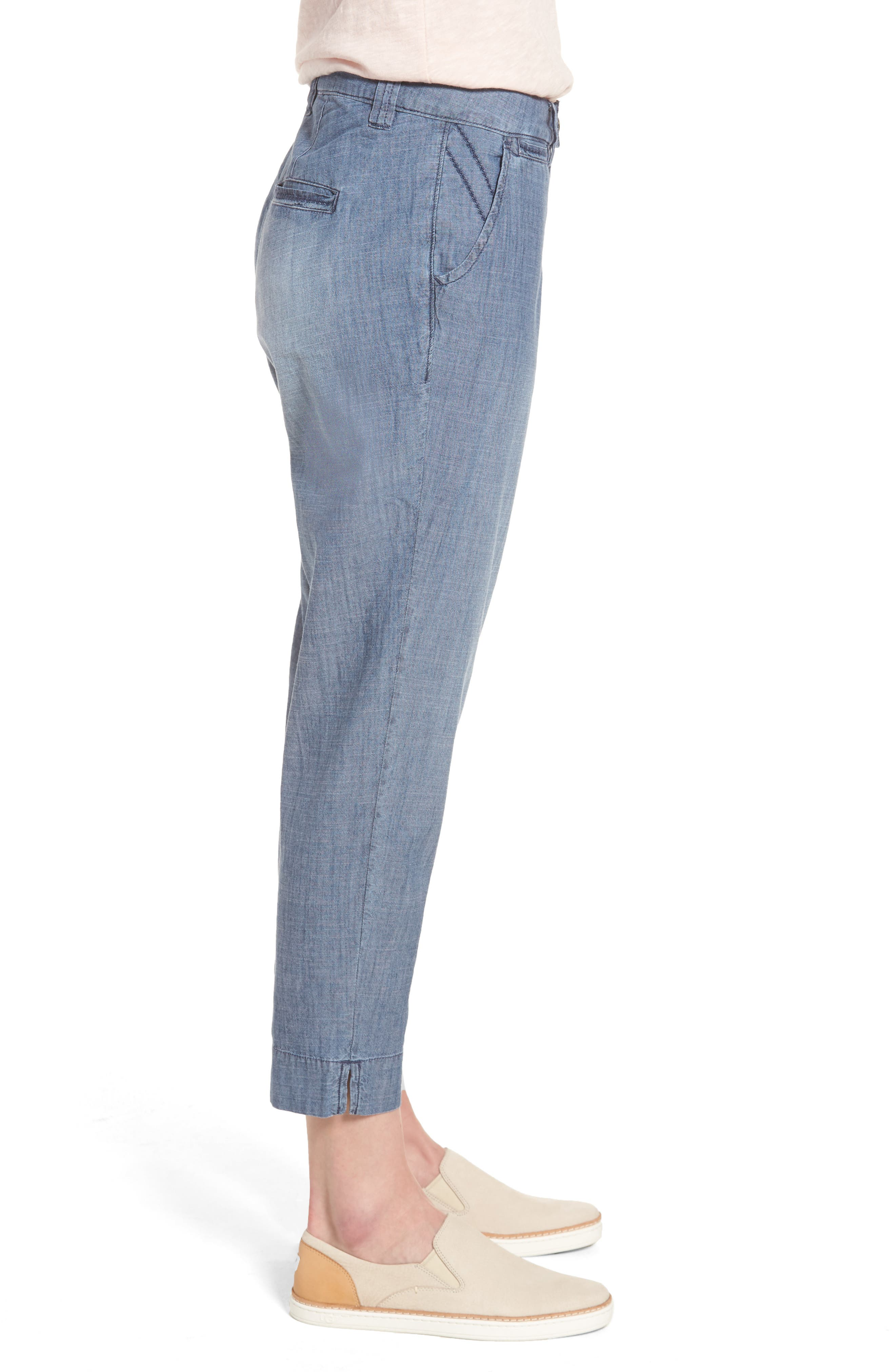 Alternate Image 3  - Jag Jeans Creston Crop Chambray Pants