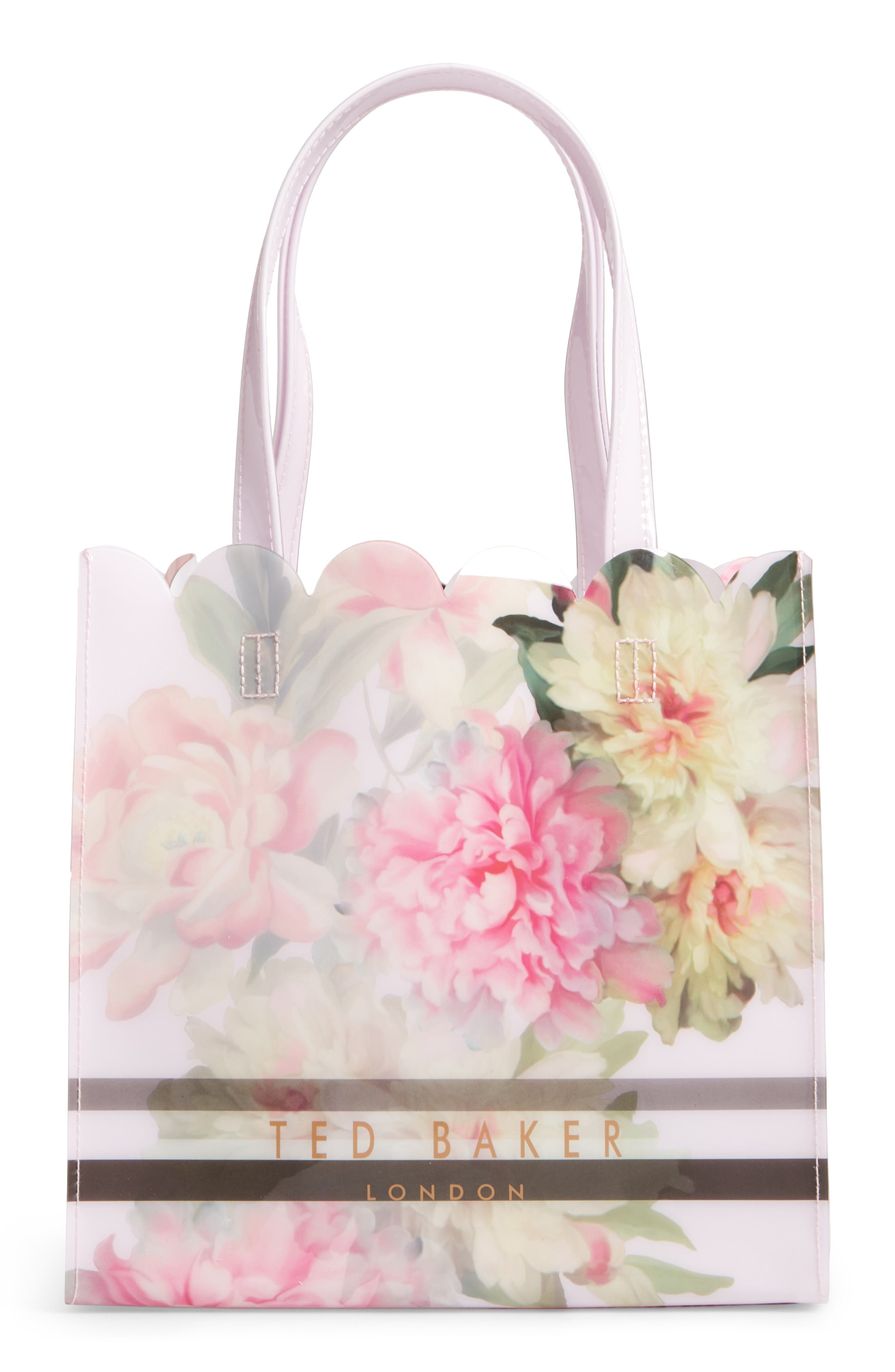 Alternate Image 1 Selected - Ted Baker London Painted Posie Small Icon Bag