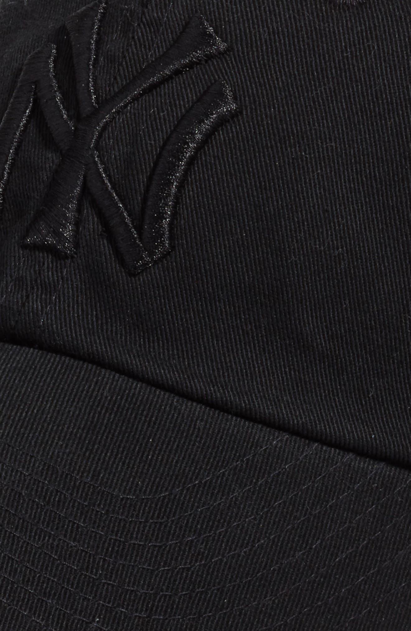 Ballpark - New York Yankees Baseball Cap,                             Alternate thumbnail 3, color,                             Black