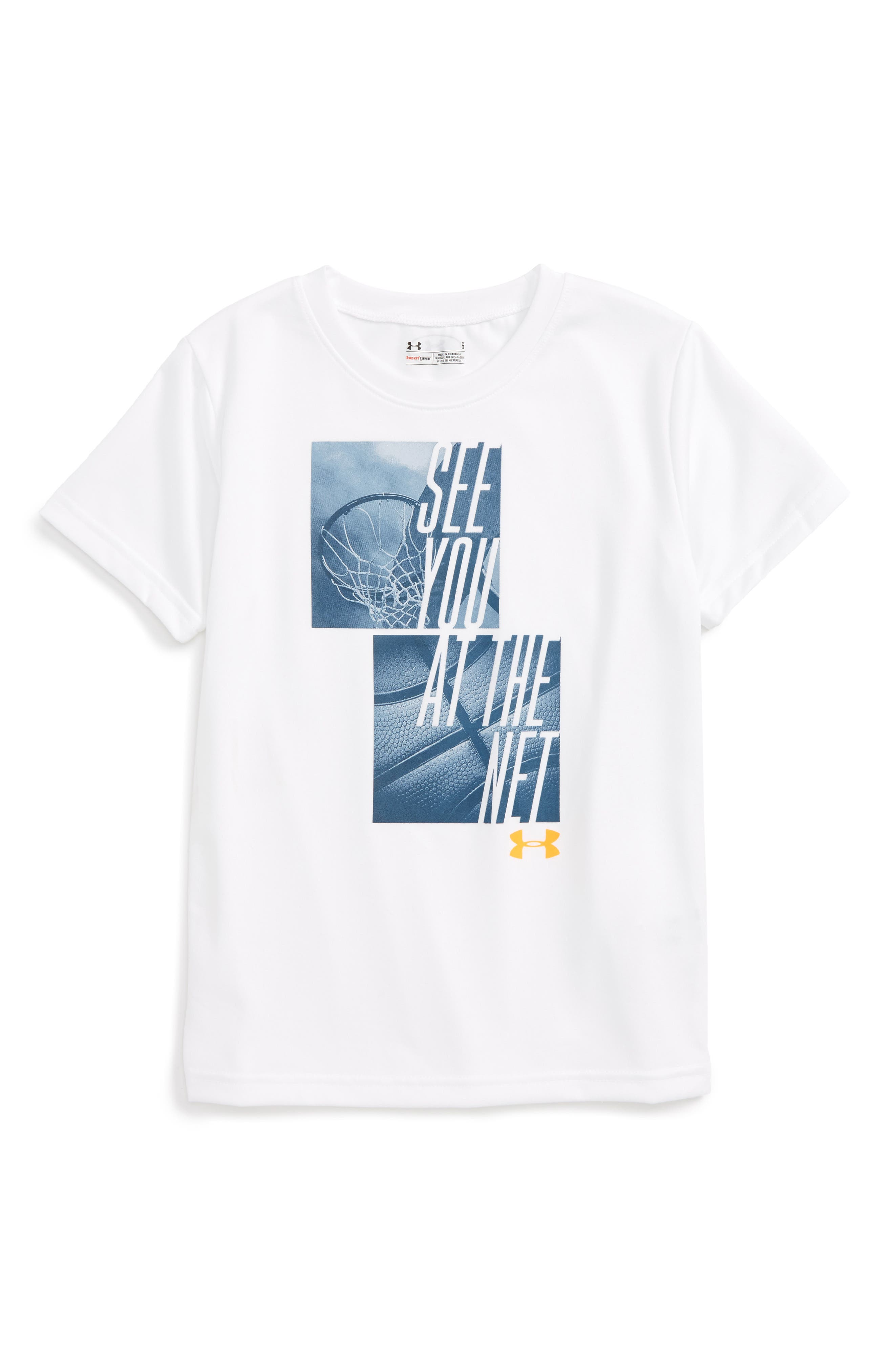 Under Armour See You at the Net HeatGear® T-Shirt (Toddler Boys & Little Boys)