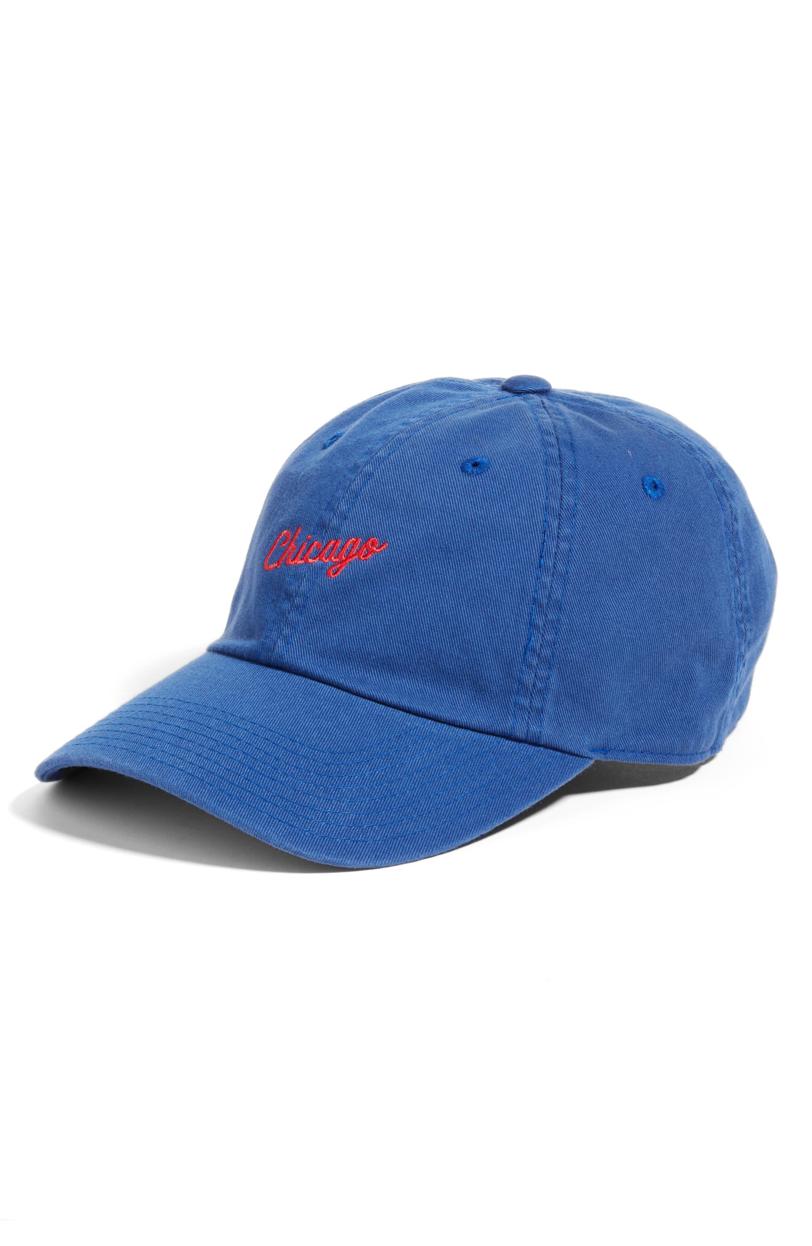 Boardshort - Chicago Baseball Cap,                         Main,                         color, Bay Blue