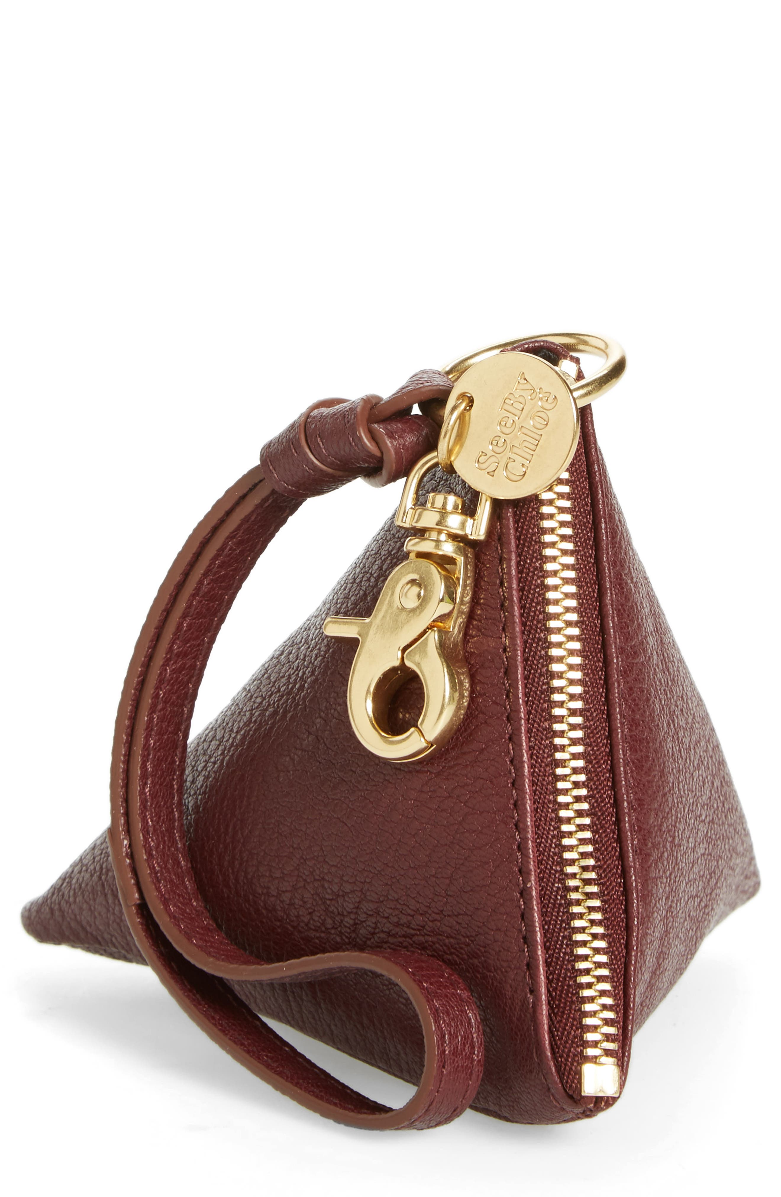 See by Chloé Goatskin Leather Coin Purse
