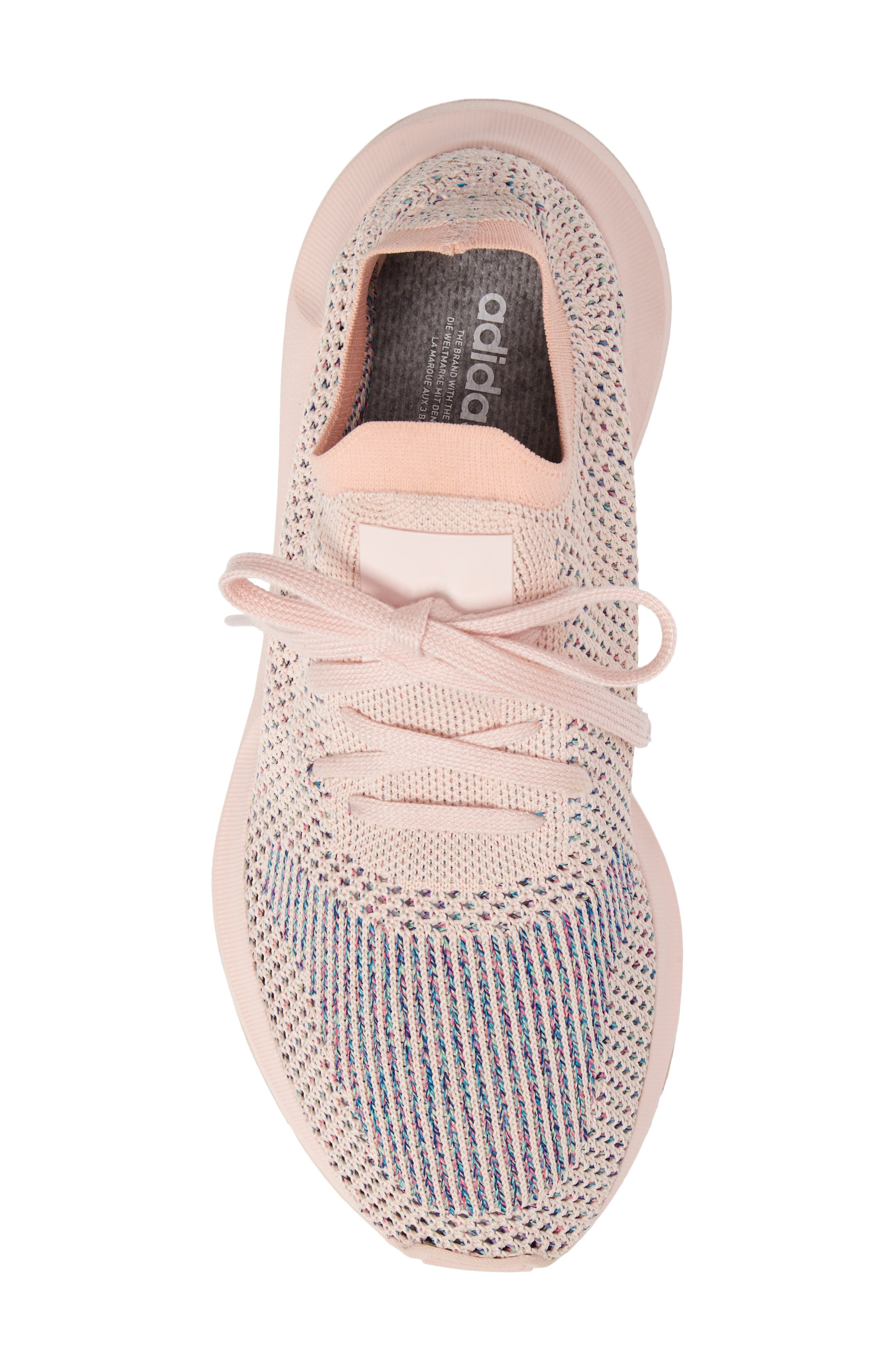 Swift Run Primeknit Training Shoe,                             Alternate thumbnail 5, color,                             Icey Pink/ Icey Pink