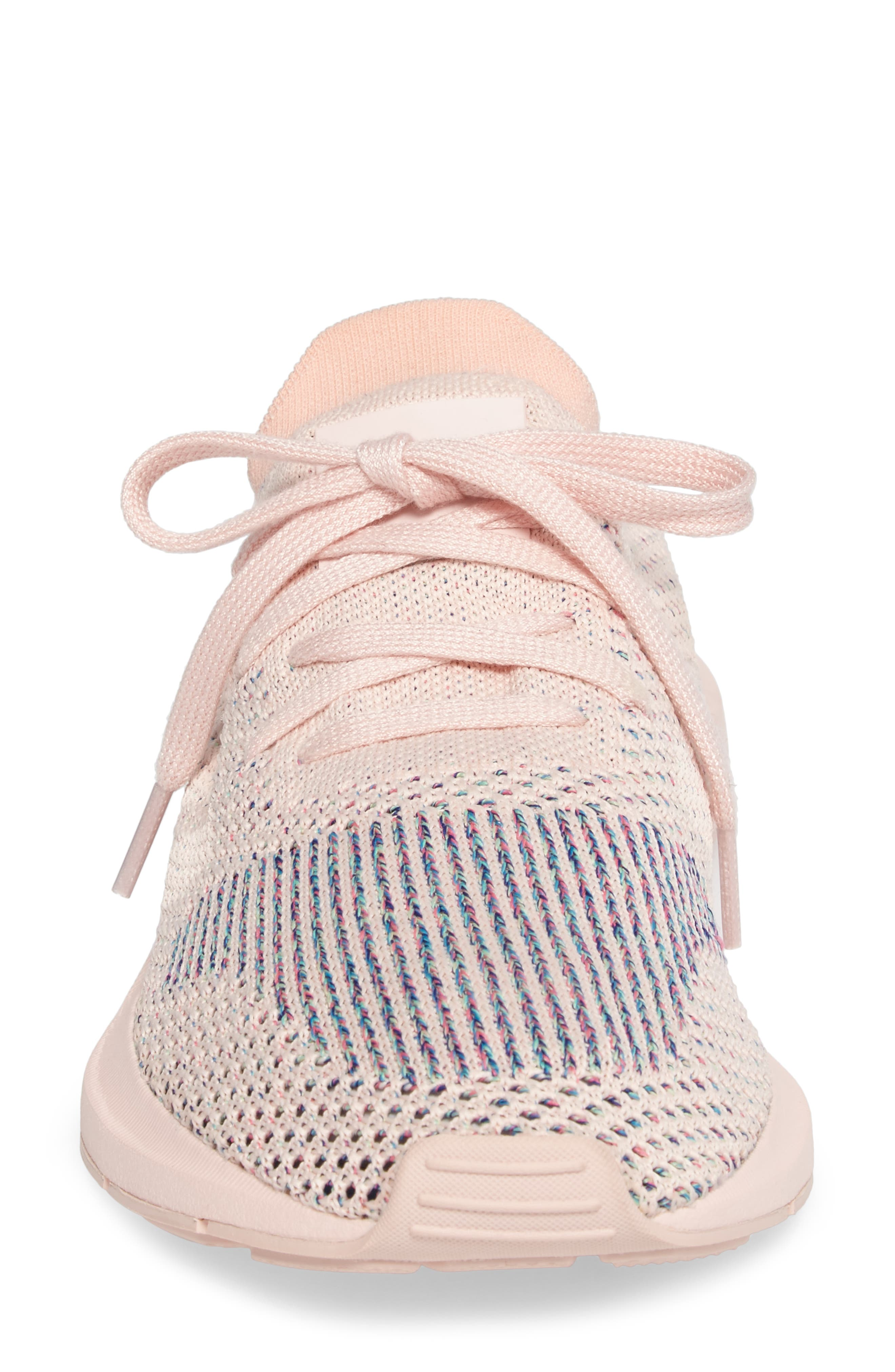 Swift Run Primeknit Training Shoe,                             Alternate thumbnail 4, color,                             Icey Pink/ Icey Pink