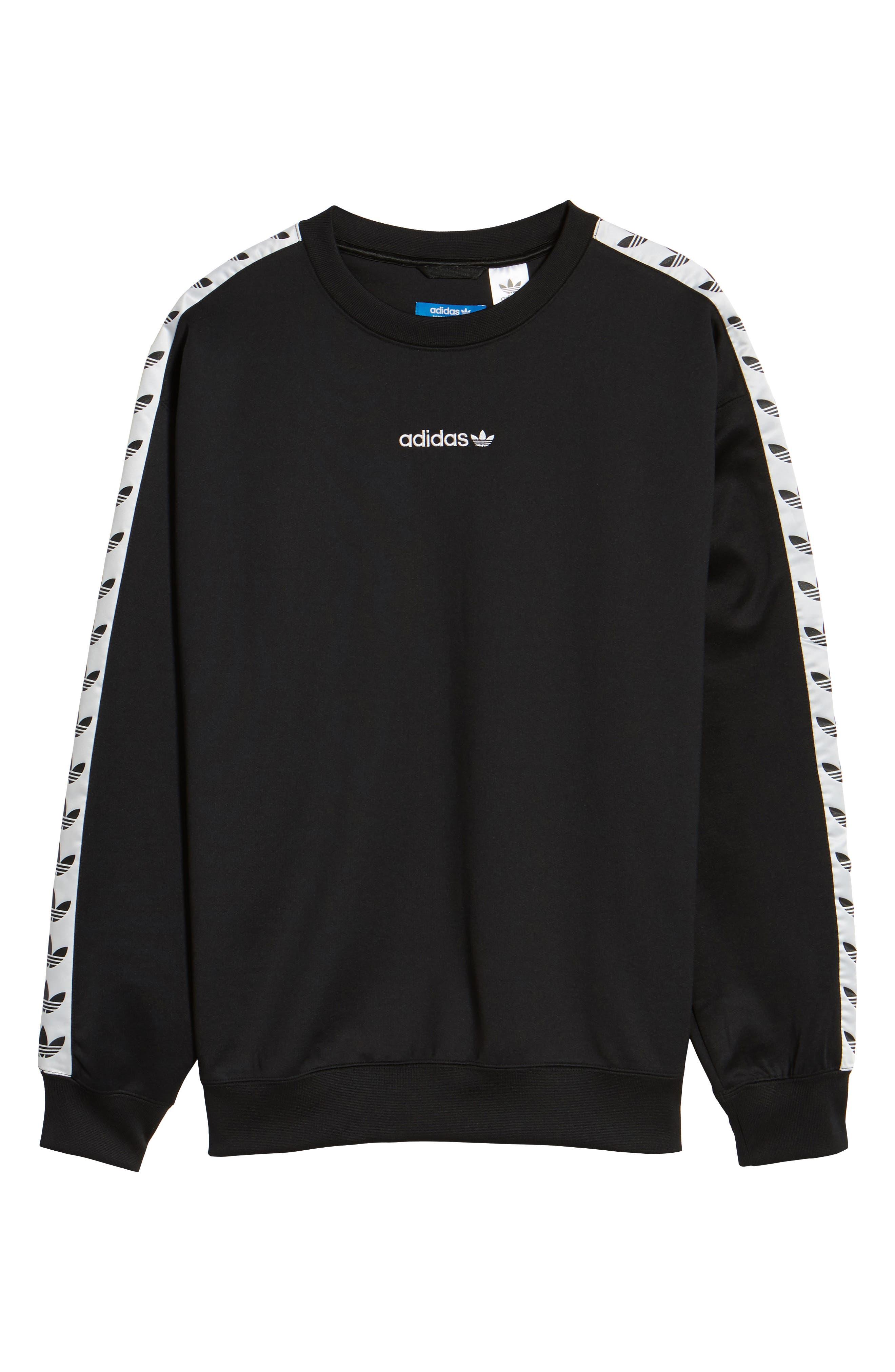 Alternate Image 6  - adidas Originals TNT Trefoil Sweatshirt