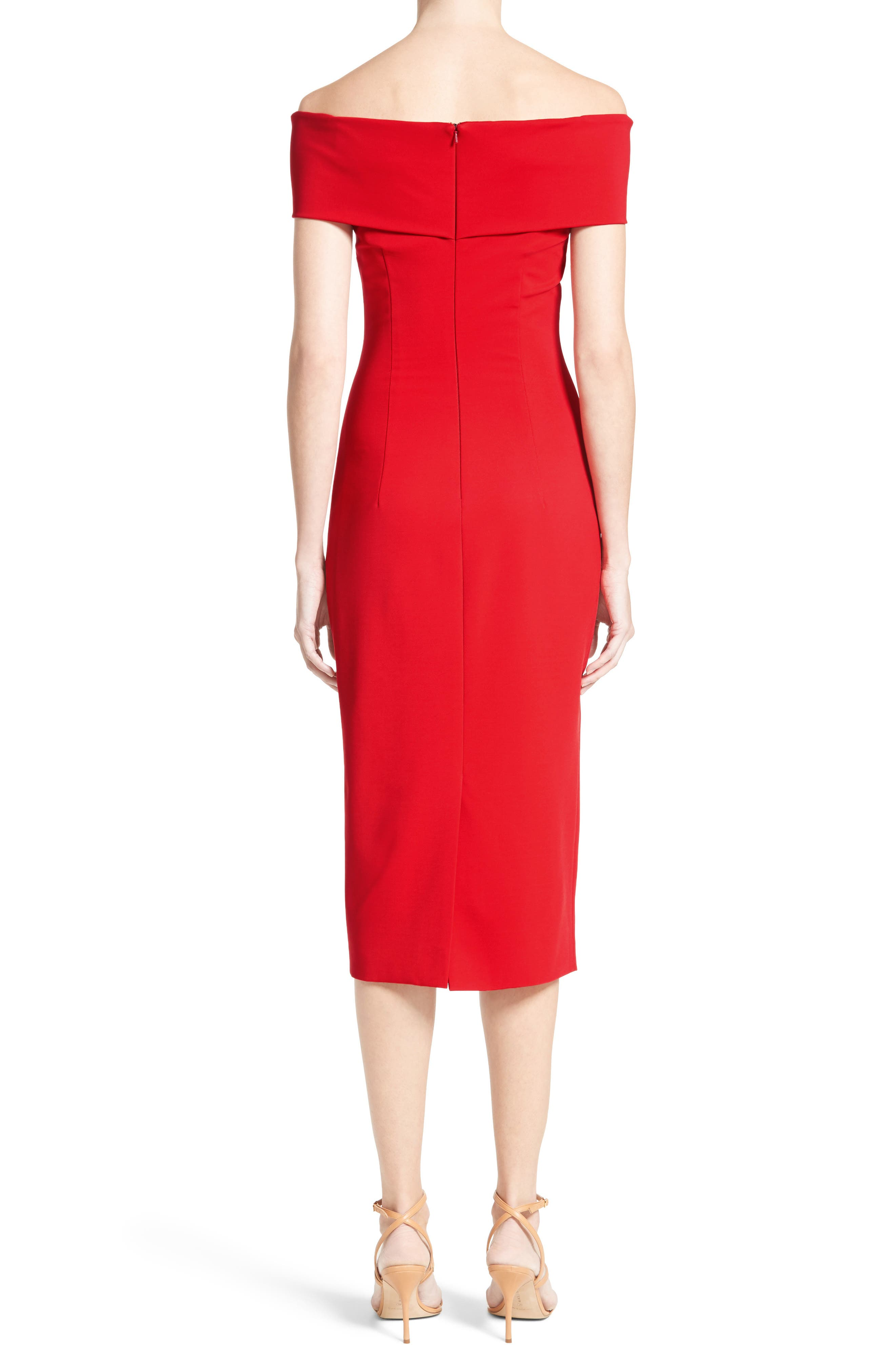 Alternate Image 2  - Cushnie et Ochs Off the Shoulder Pencil Dress