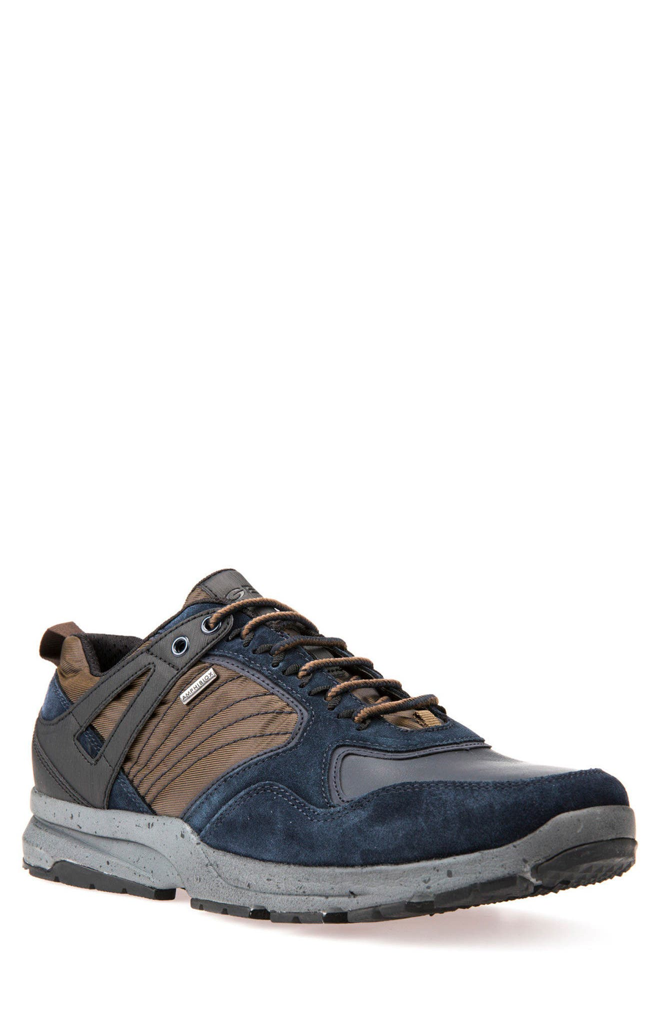Gegy ABX Waterproof Sneaker,                         Main,                         color, Navy/ Musk
