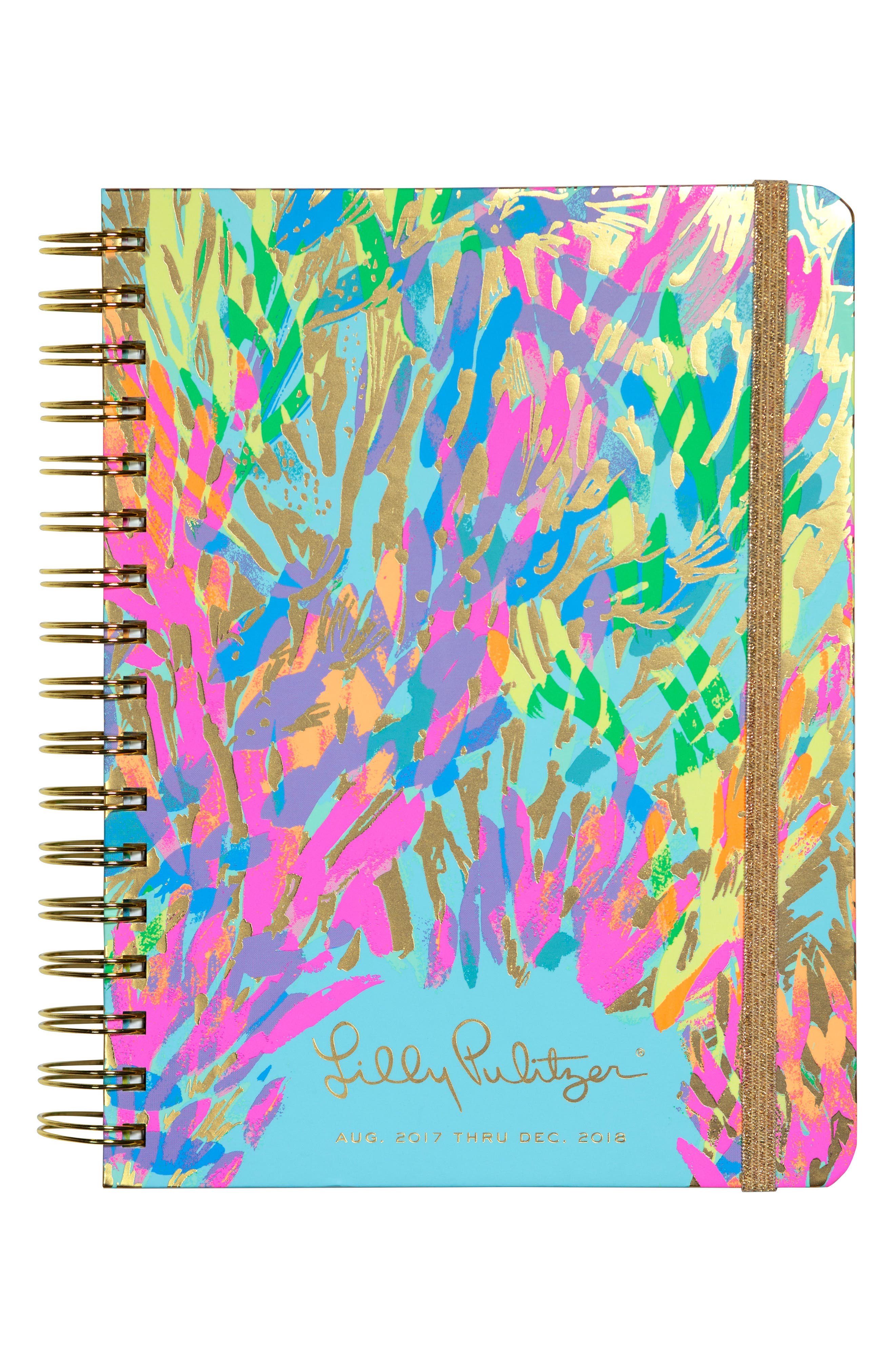 Alternate Image 1 Selected - Lilly Pulitzer® Large 17-Month Agenda