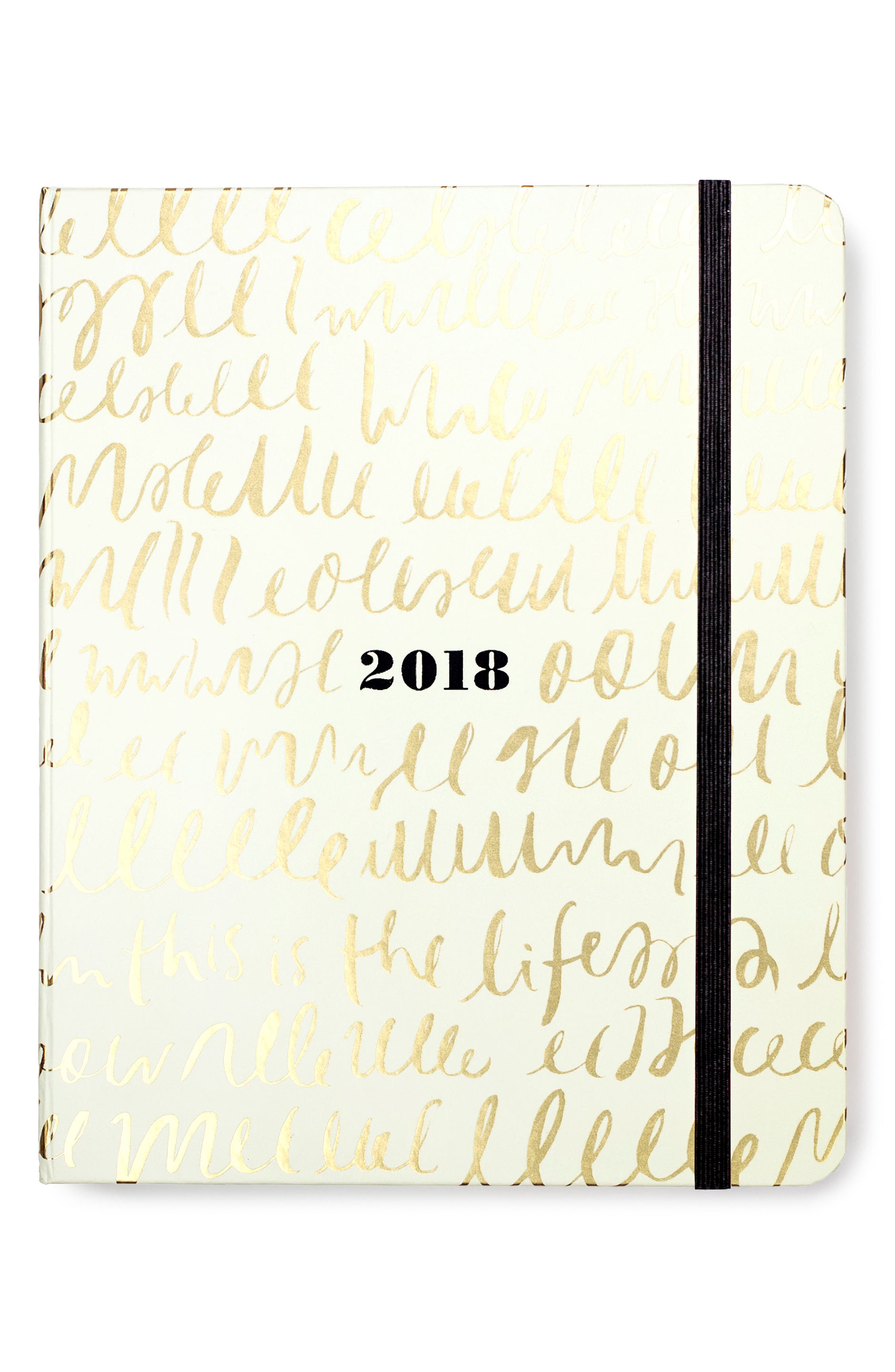 Alternate Image 1 Selected - kate spade new york large 17-month agenda