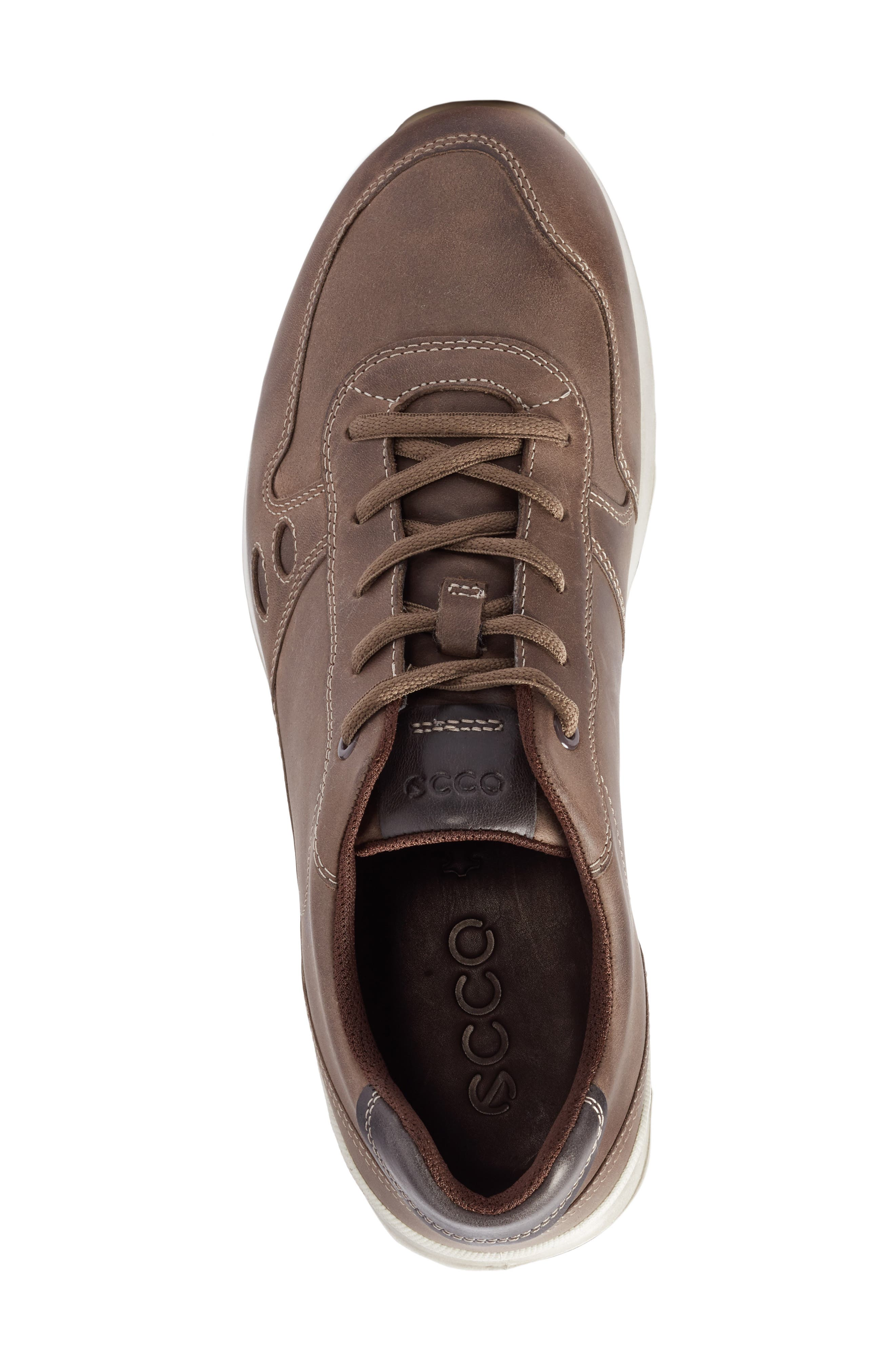 CS14 Retro Sneaker,                             Alternate thumbnail 5, color,                             Stone/ Moonless Leather