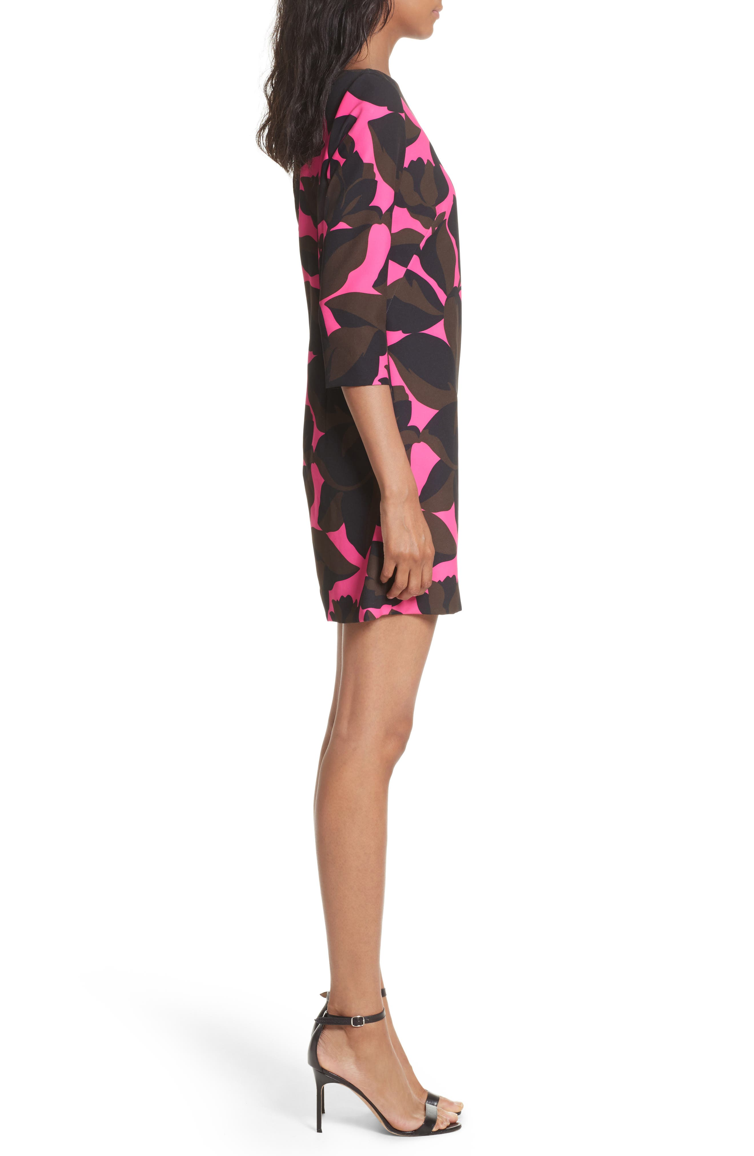 Alternate Image 3  - Milly Floral Print Minidress