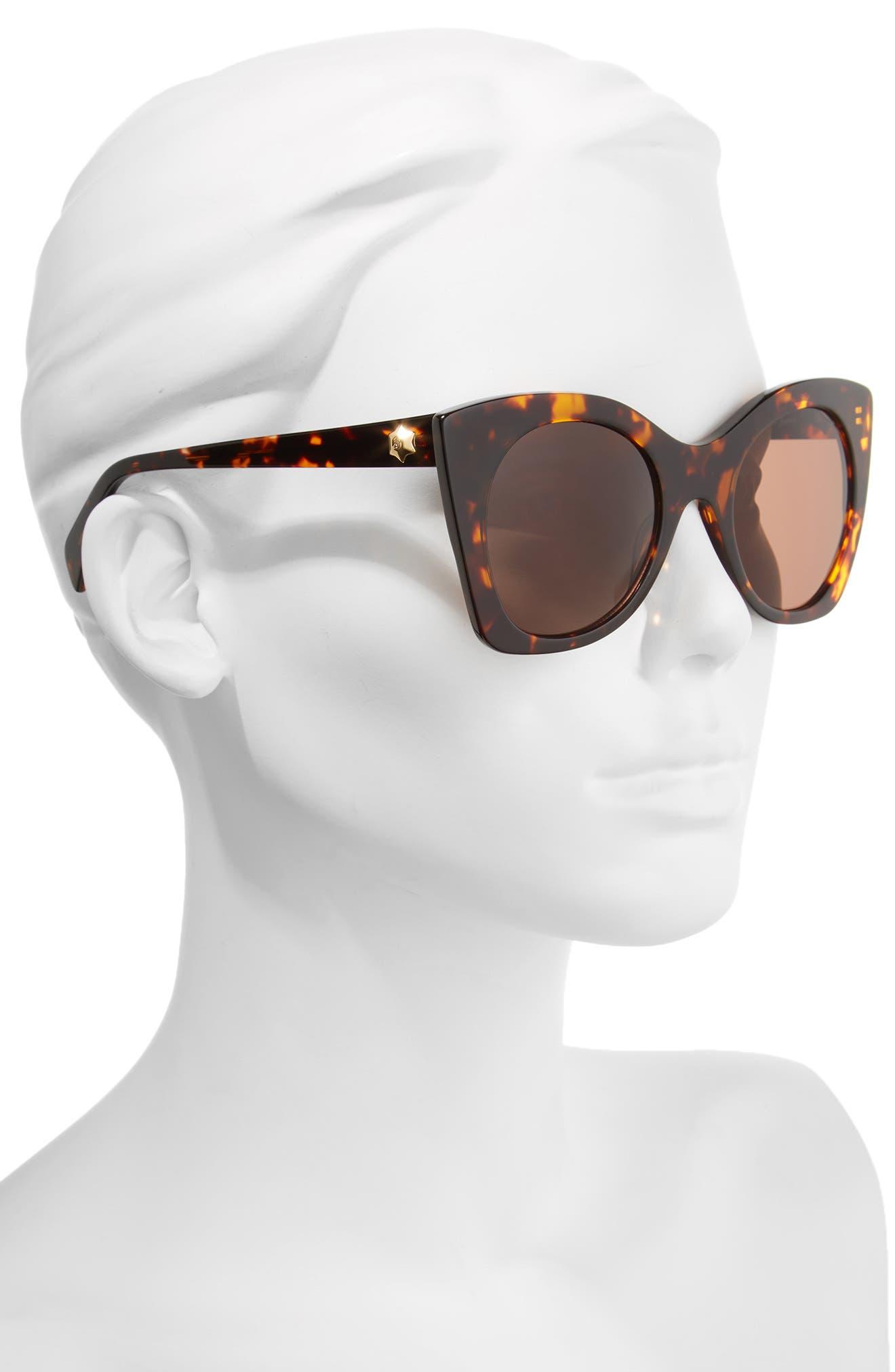 Alternate Image 2  - Draper James 51mm Geometric Sunglasses