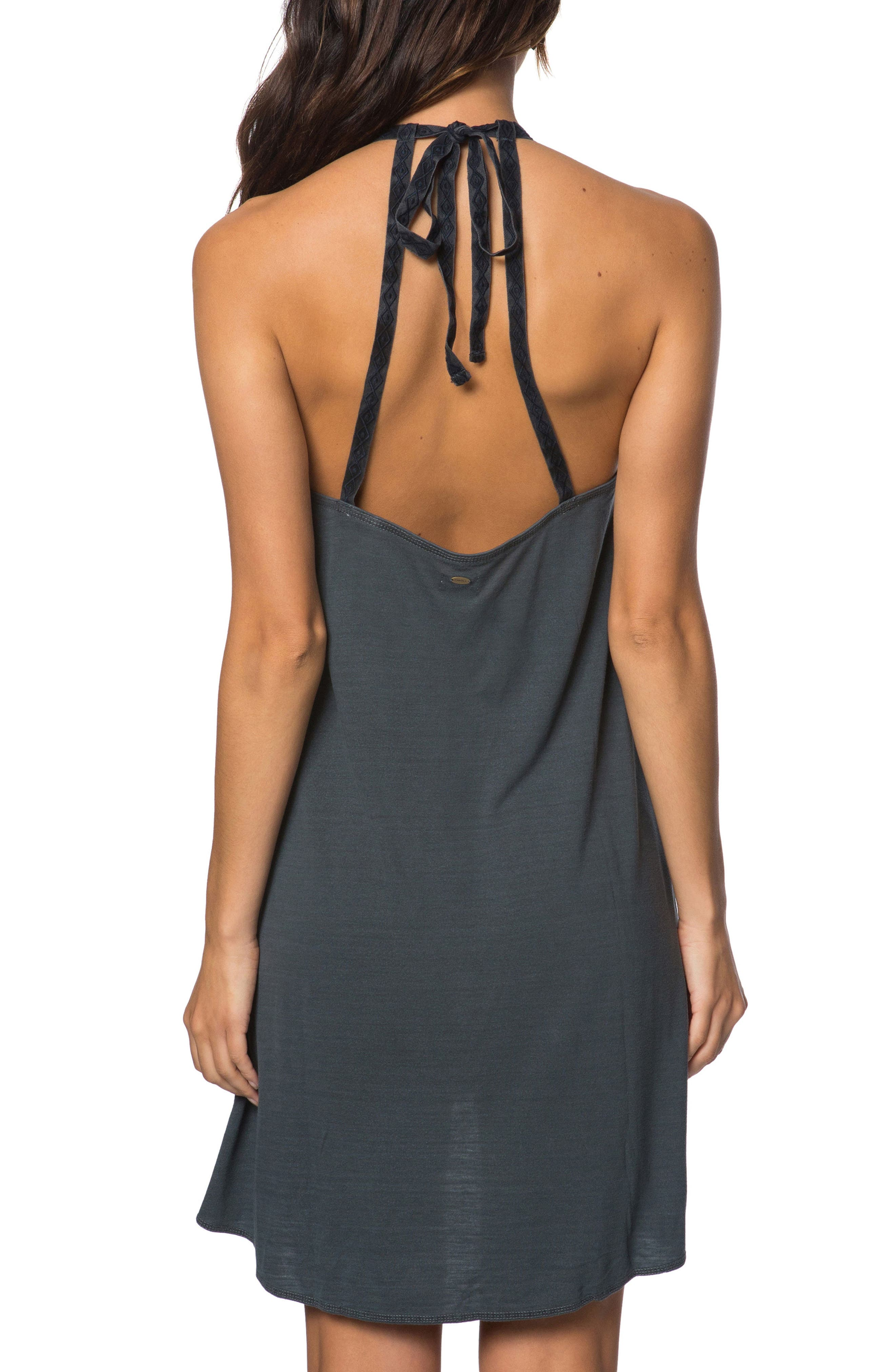 River Cover-Up Dress,                             Alternate thumbnail 2, color,                             Steel