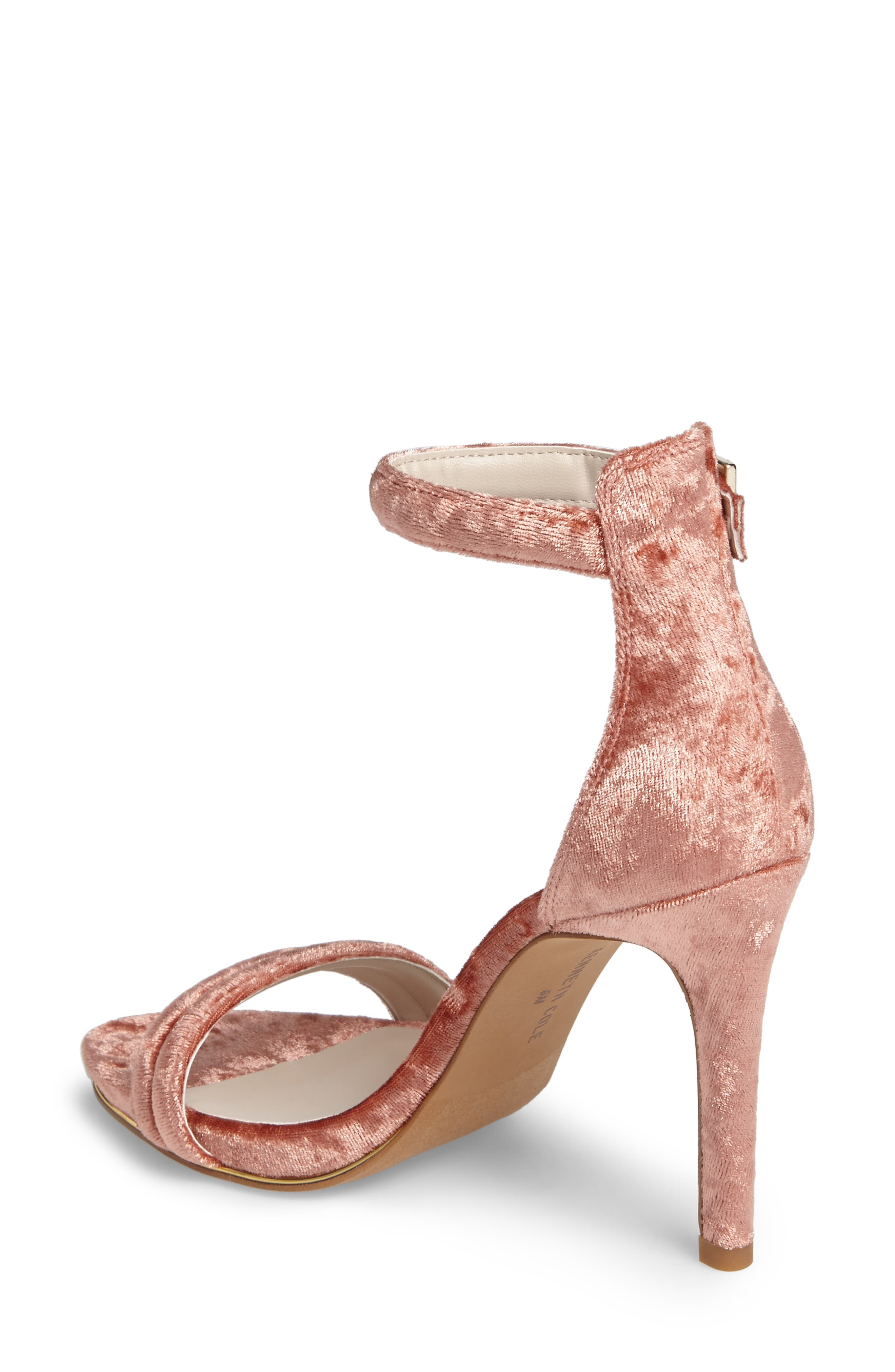 'Brooke' Sandal,                             Alternate thumbnail 2, color,                             Rose Velvet