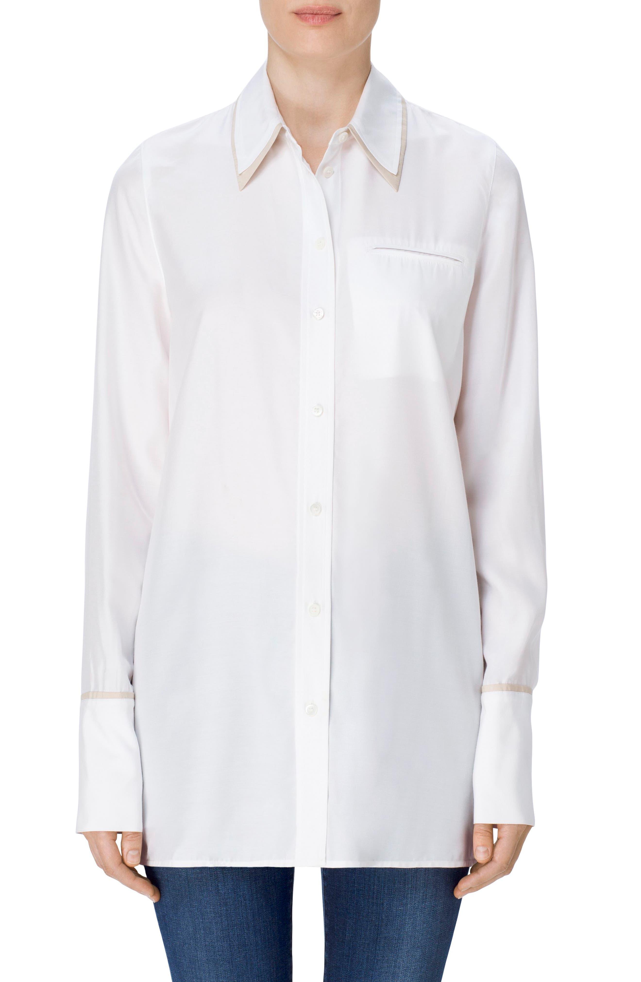 Alternate Image 1 Selected - J Brand Blake Oversize Shirt