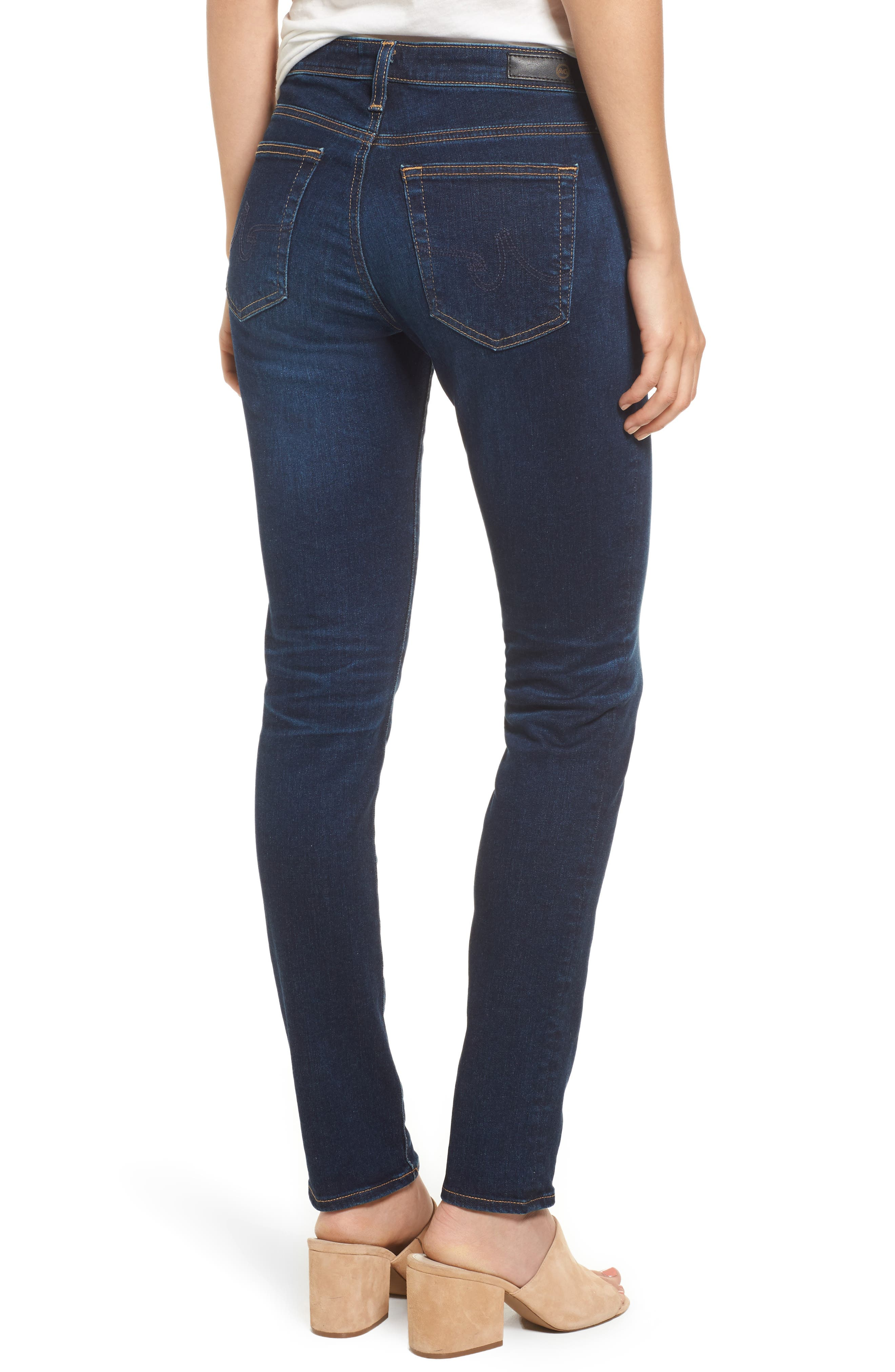 Alternate Image 2  - AG Prima Skinny Jeans (4 Year Rapids)