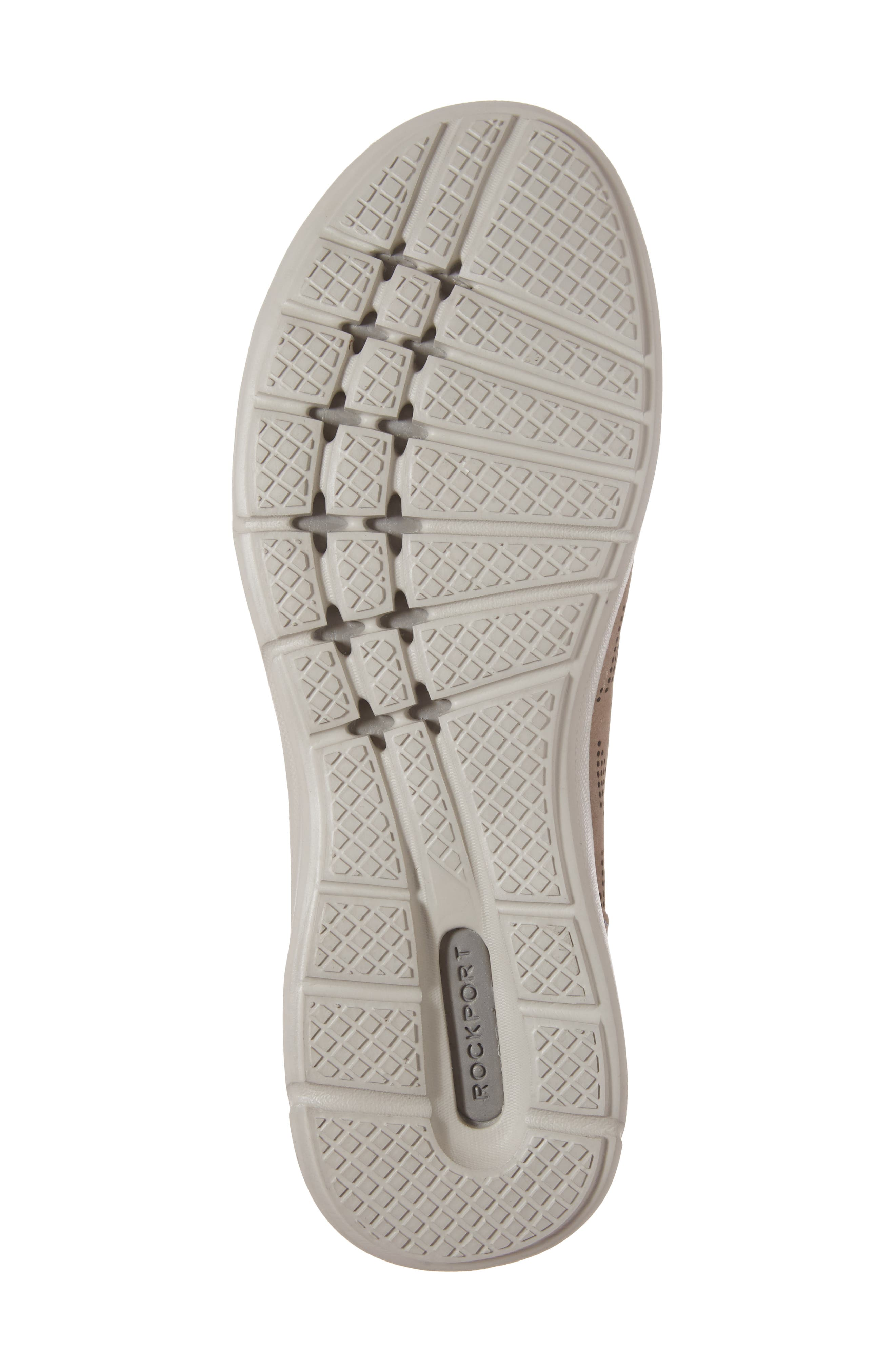 truFLEX Perforated Sneaker,                             Alternate thumbnail 6, color,                             Sand Leather