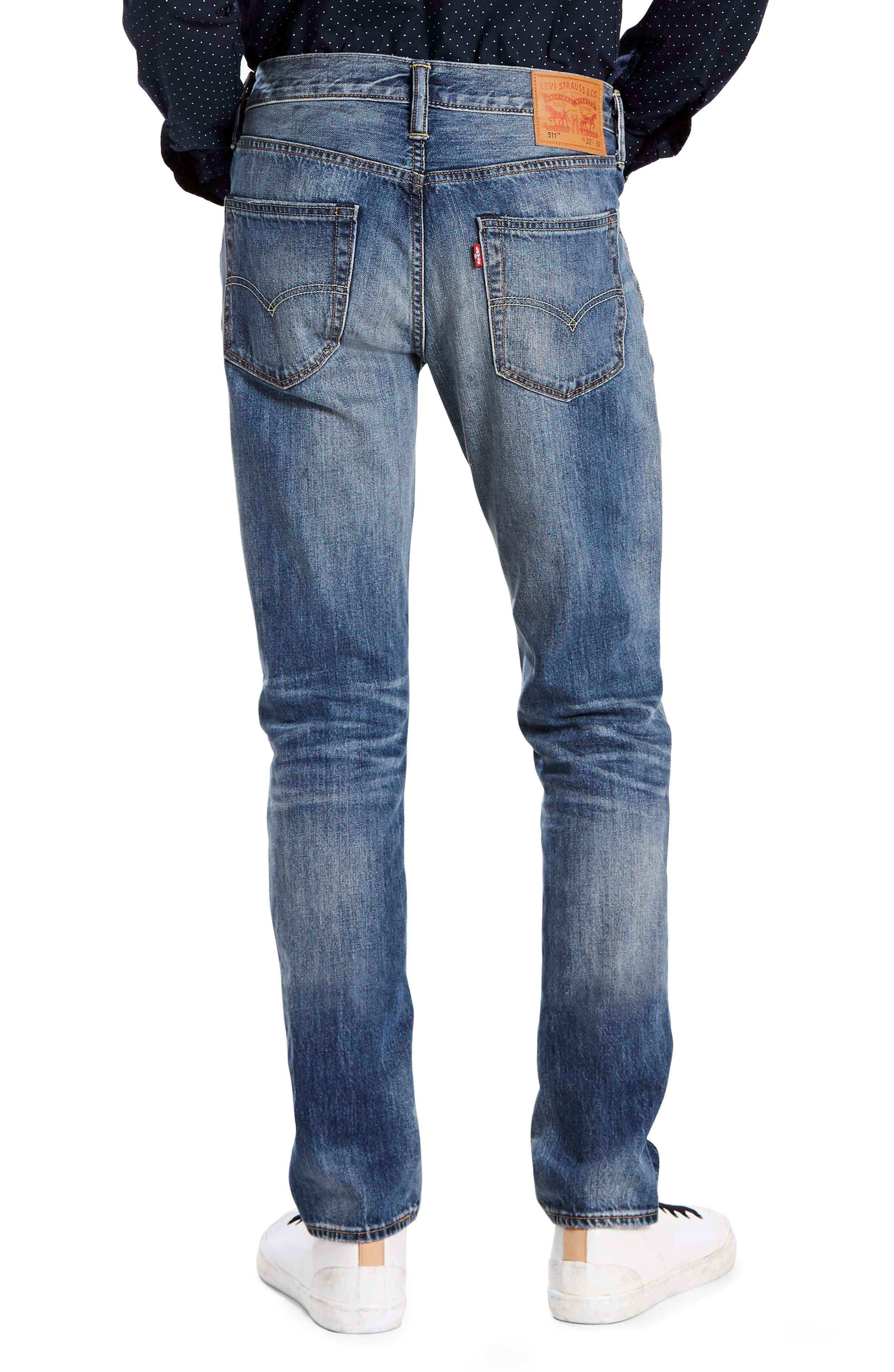 511<sup>™</sup> Slim Fit Jeans,                             Alternate thumbnail 2, color,                             The Cavern
