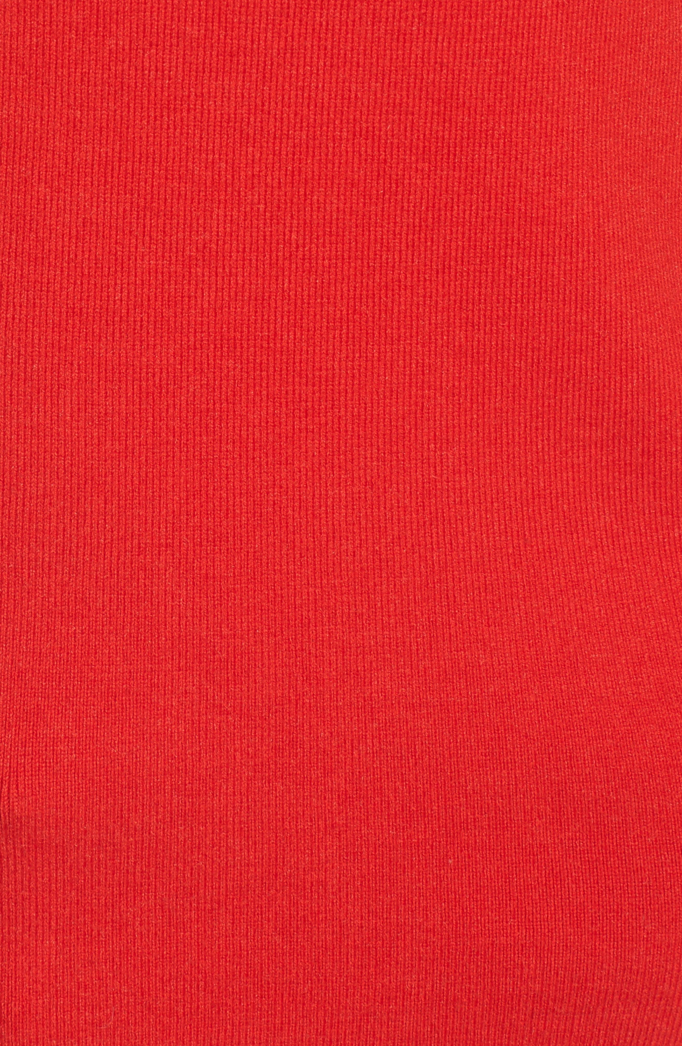 Alternate Image 6  - Halogen Scallop Edge Sweater (Regular & Petite)