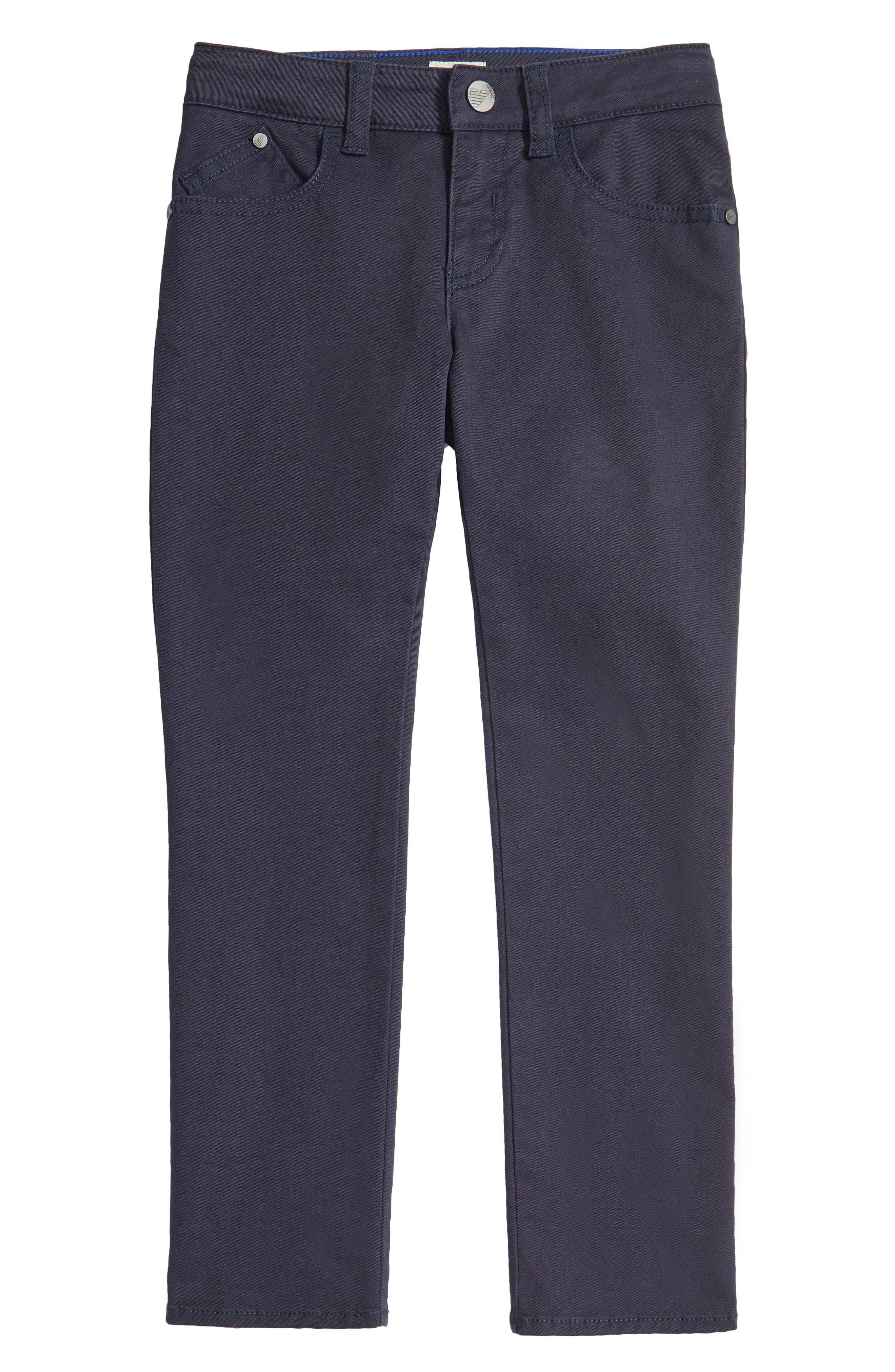 Alternate Image 1 Selected - Armani Junior Stretch Cotton Chino Pants (Little Boys & Big Boys)