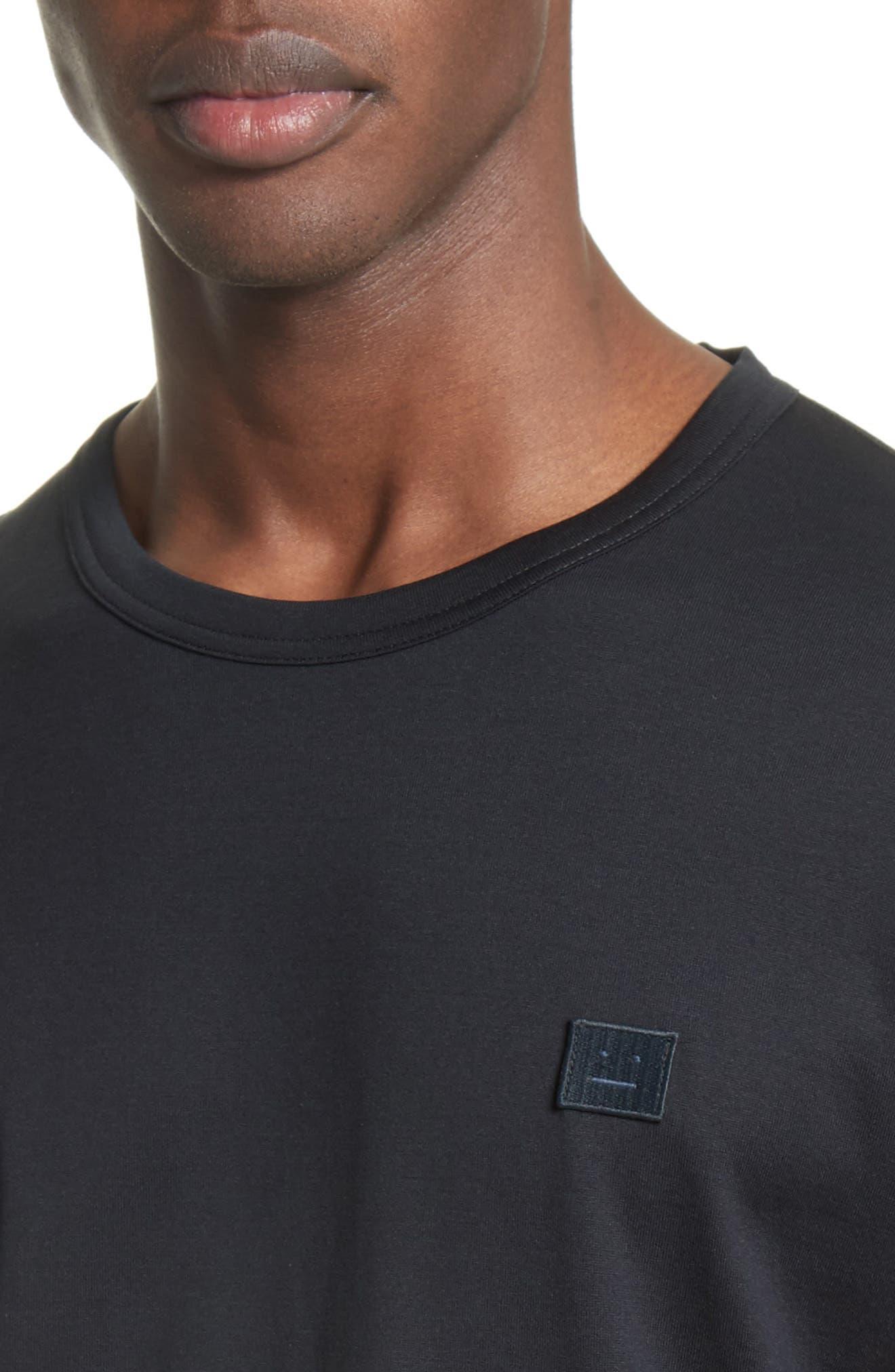 Nash Face T-Shirt,                             Alternate thumbnail 4, color,                             Black
