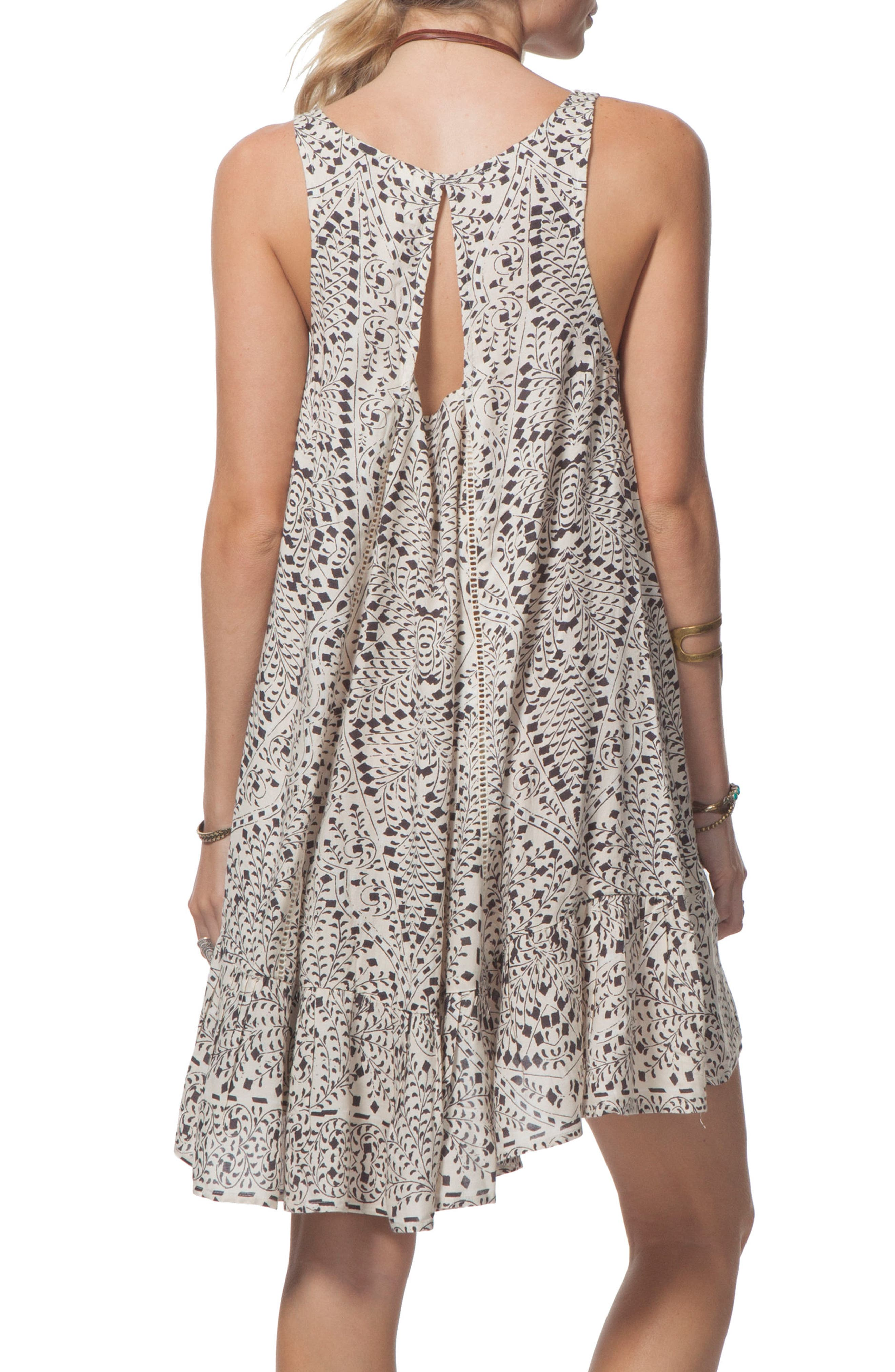Alternate Image 2  - Rip Curl Sun Shadow Print Swing Dress
