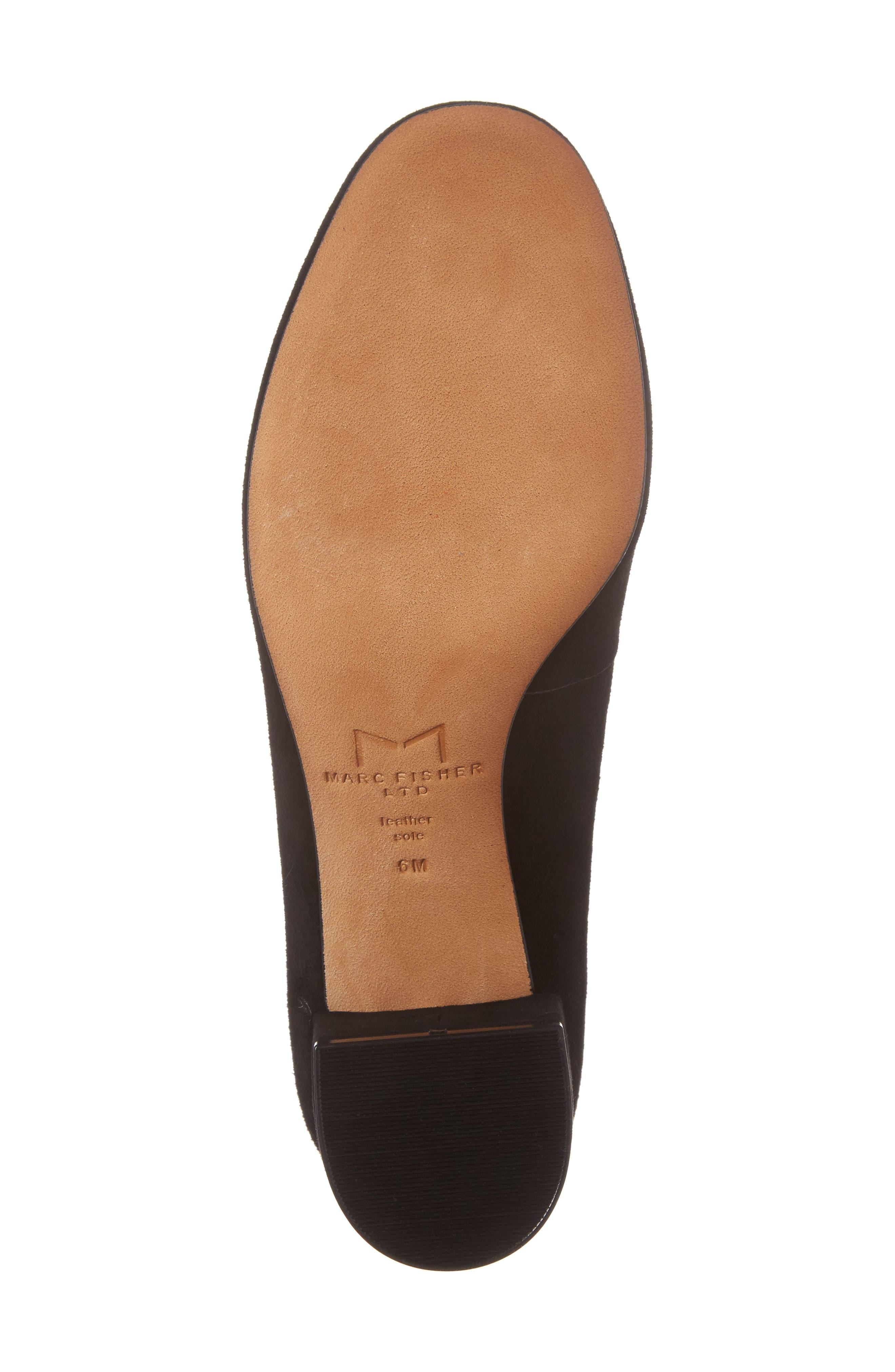 Alternate Image 6  - Marc Fisher LTD Wiley Block Heel Pump (Women)