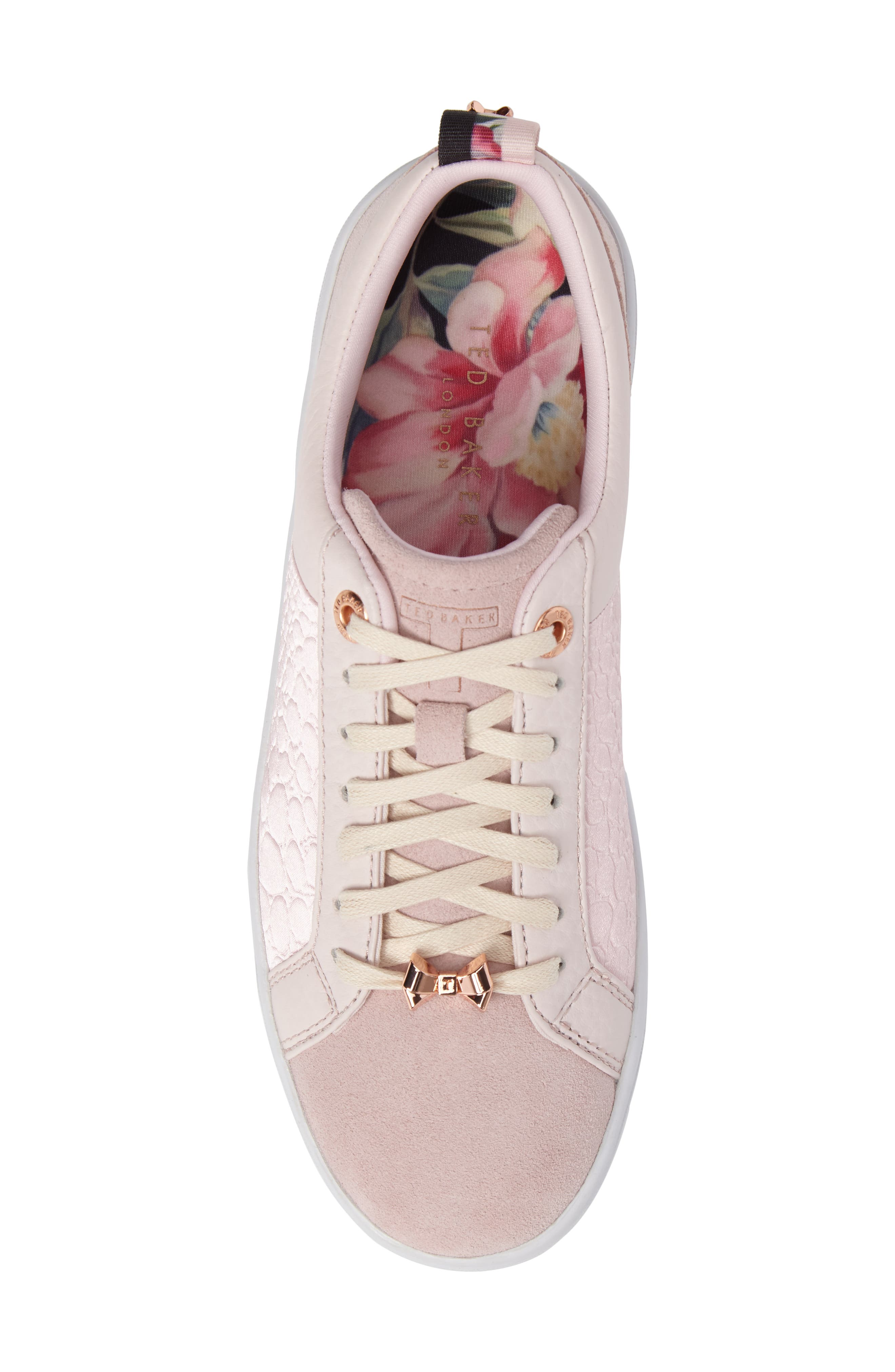 Kulei Sneaker,                             Alternate thumbnail 5, color,                             Light Pink Leather