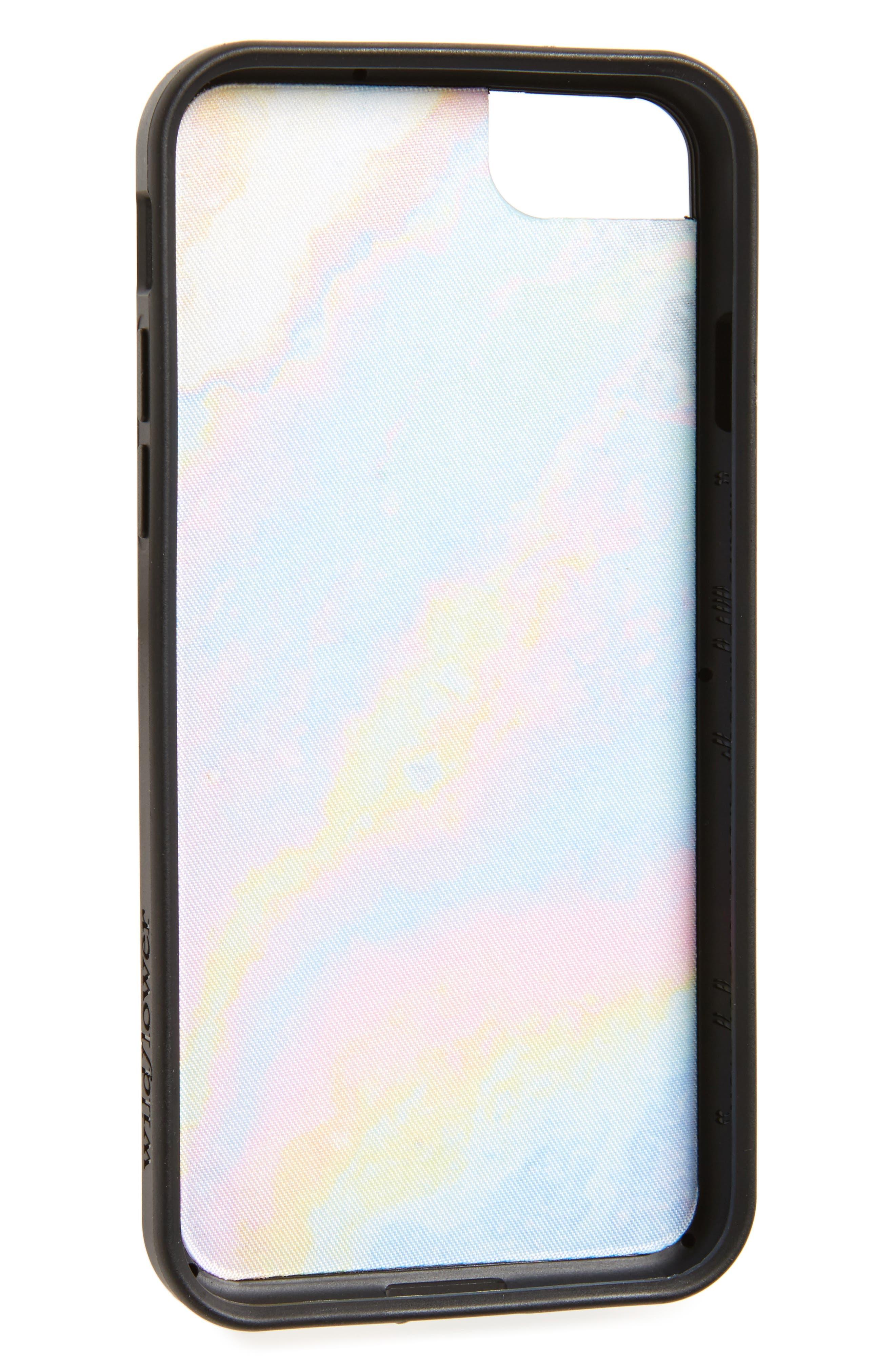 Alternate Image 2  - Wildflower Iridescent iPhone 7 Case