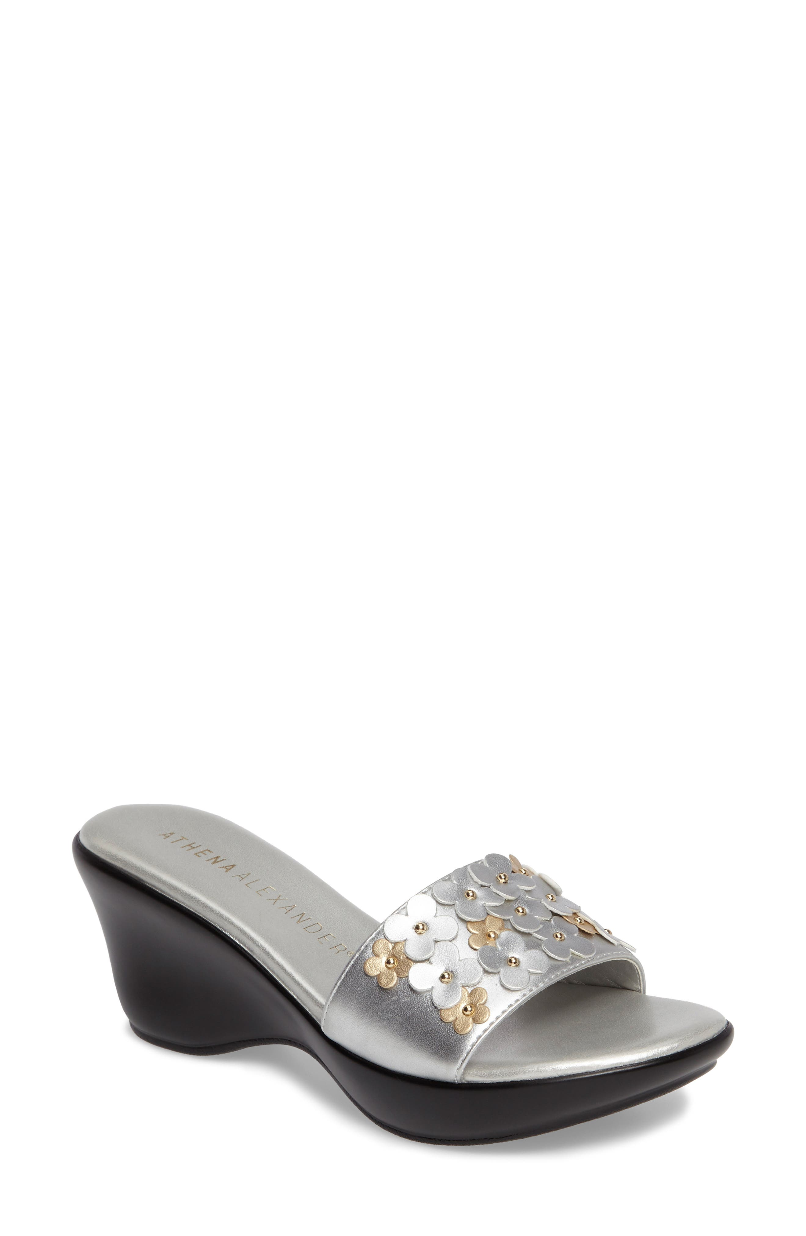 Athena Alexander Allegra Wedge Slide (Women)