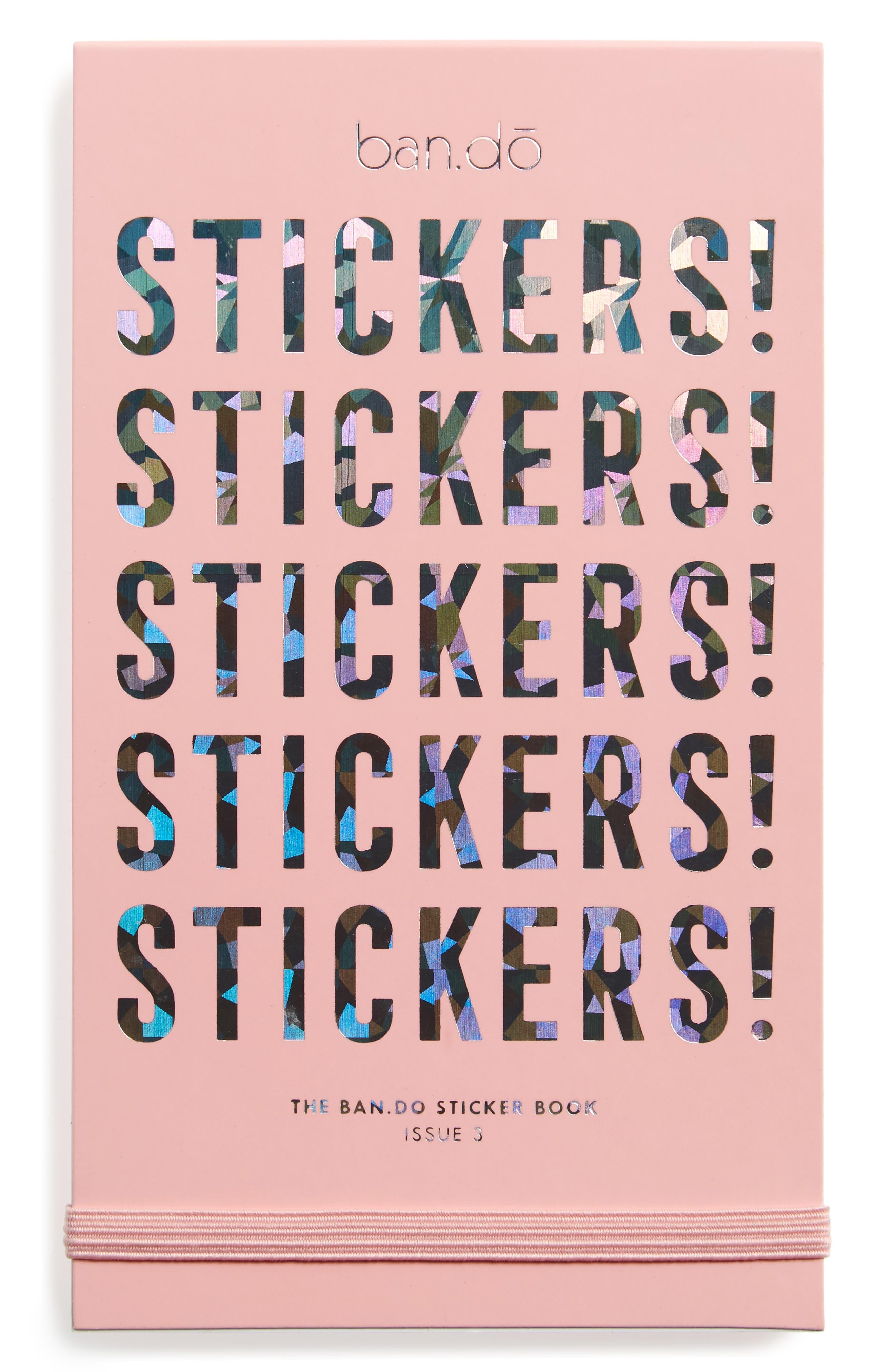 Main image ban do sticker book