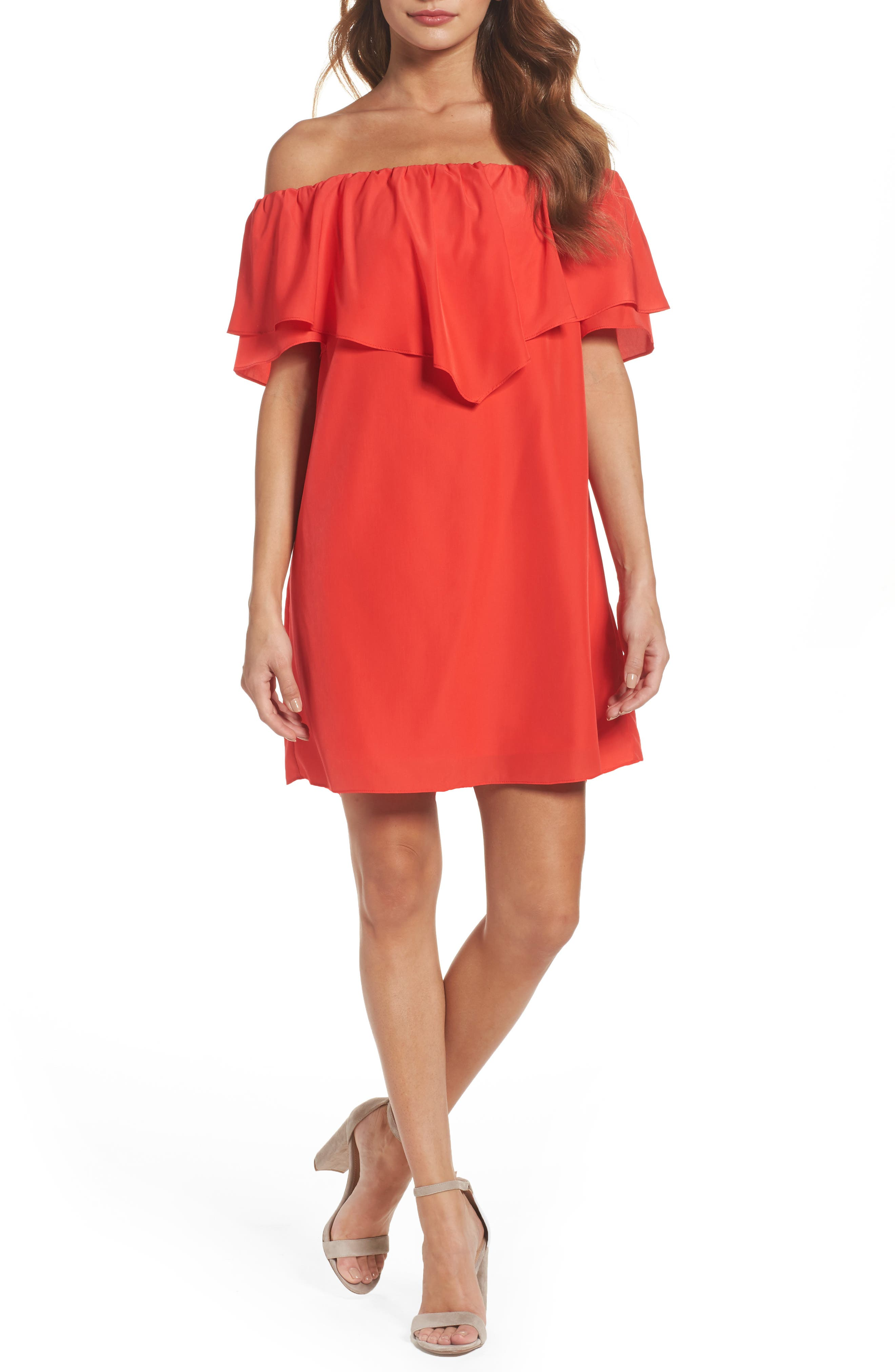 A by Amanda Birch Shift Dress